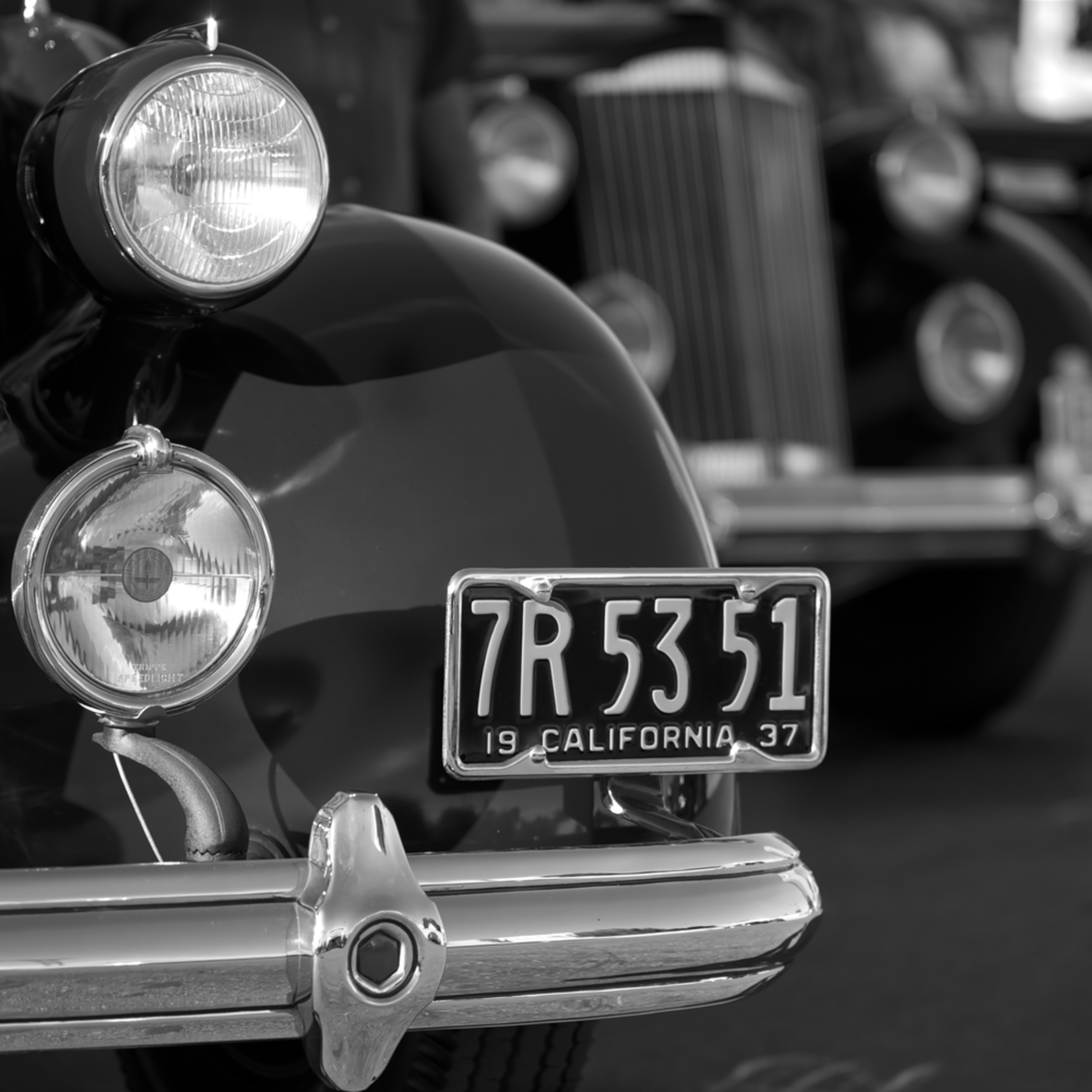 Classic packards black and white pxbru7