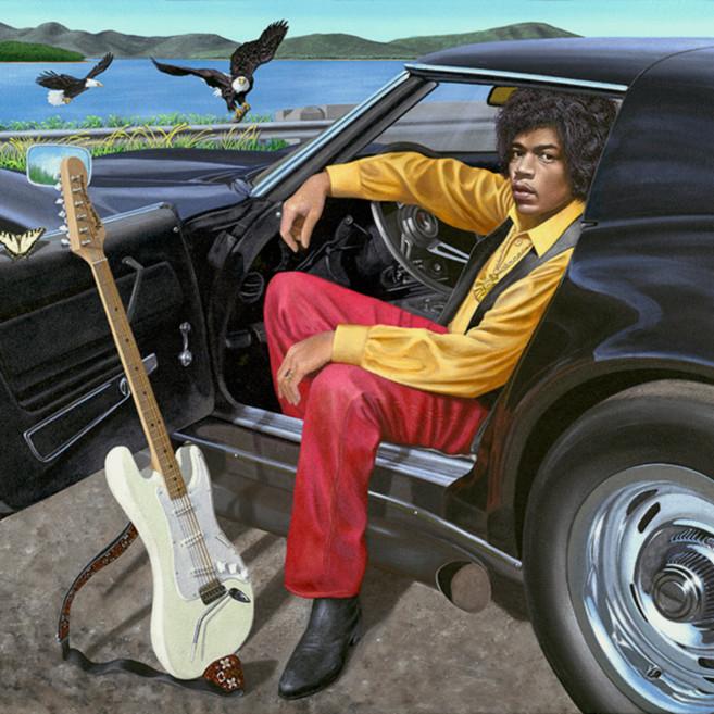 Jimi and his corvette lqncd8