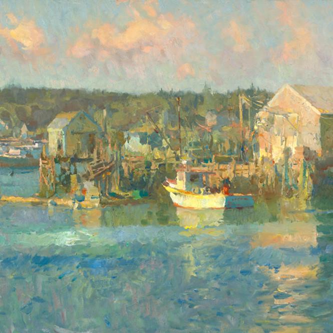 Boats in harbor kdqqeh