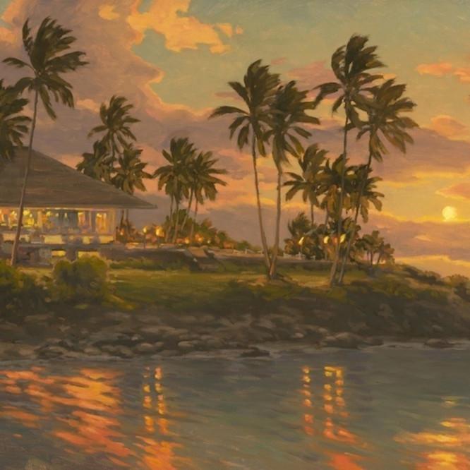 Kapalua sunset by daryl millard izffeg