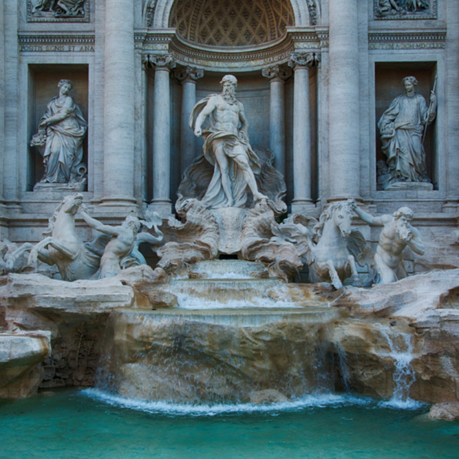 Trevi fountain vce5ht