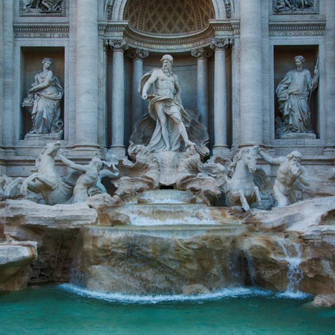 Trevi fountain vce5ht