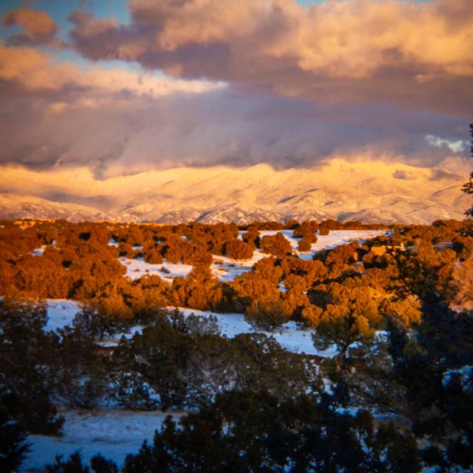 Winter sunset sangre de christo mountains  wesm90