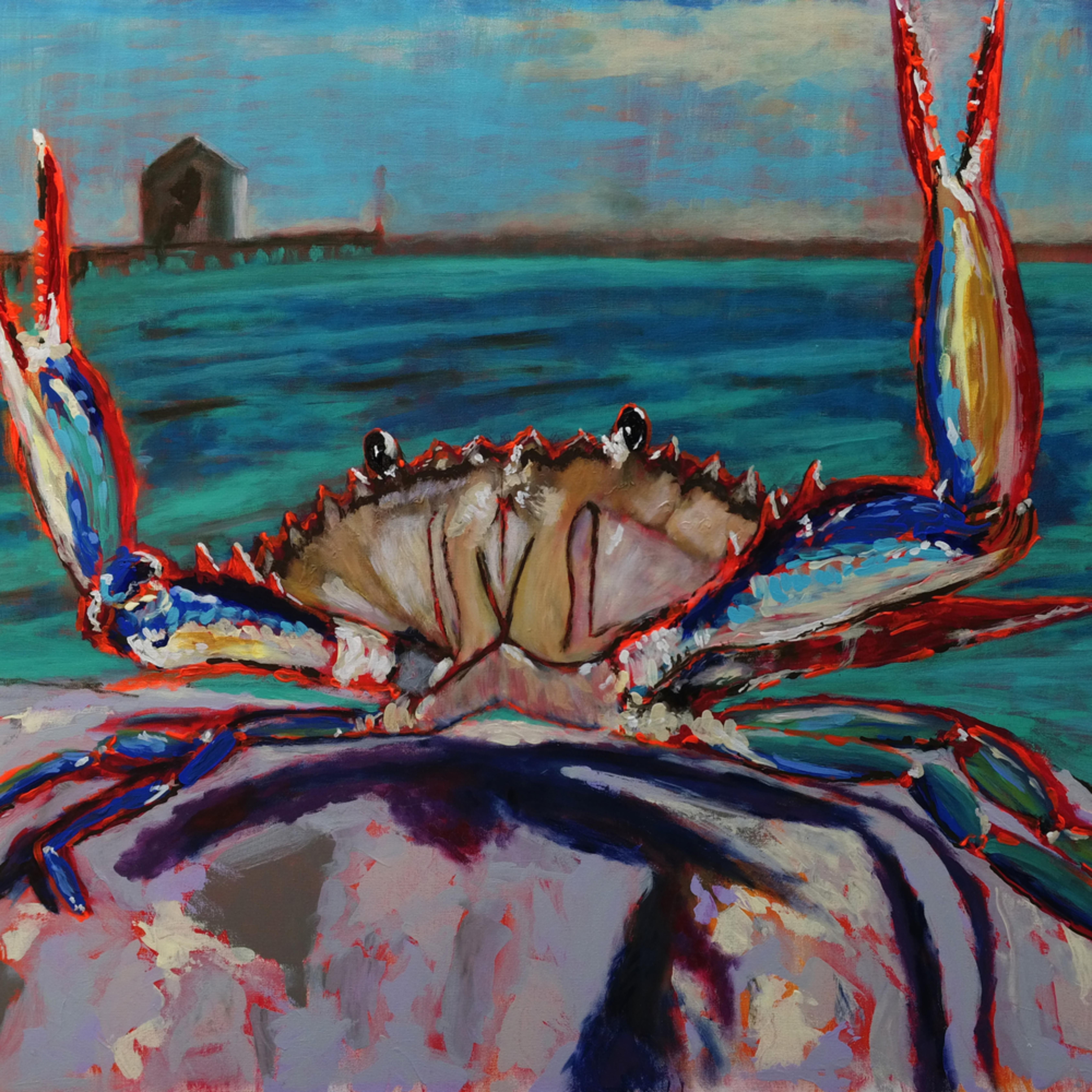 Lg blue crab rick osborn fiulii