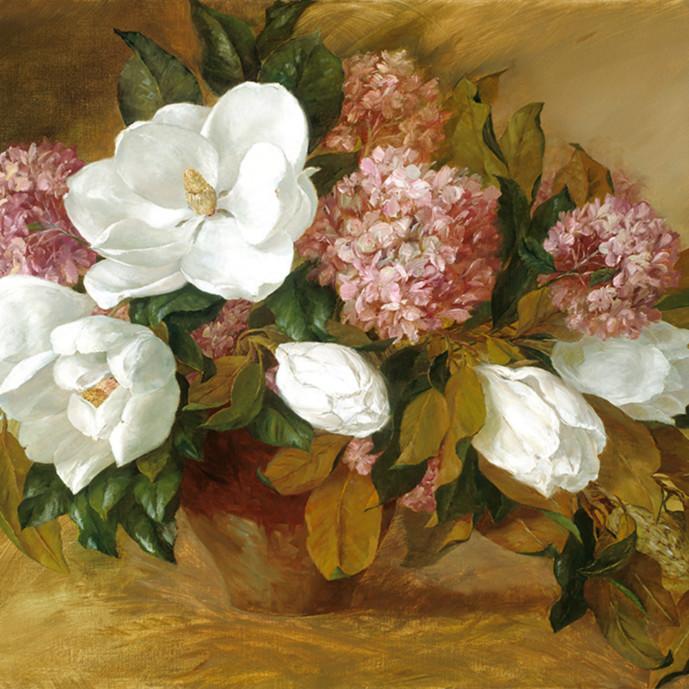Magnolias and pink gf6ztb