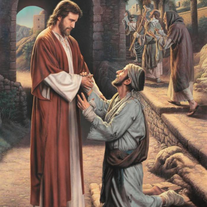 Simon dewey the grateful leper qqqvzz