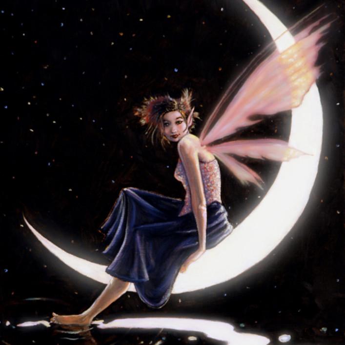 Giclee luna fairy web mt0gav