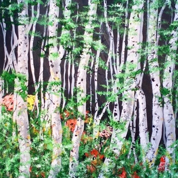 Aspen forest qb2smg