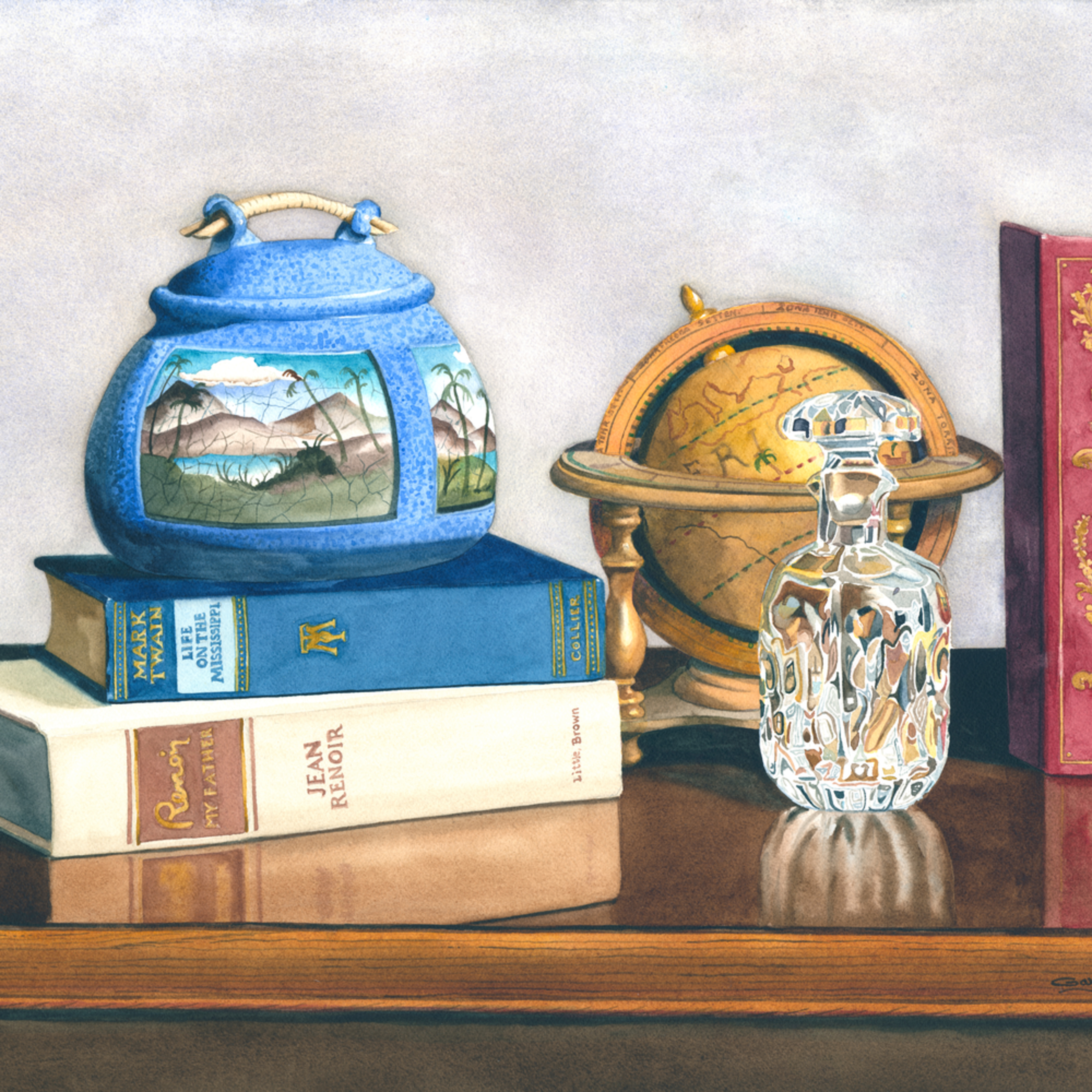 Blue classics 18x24 dvfsfp