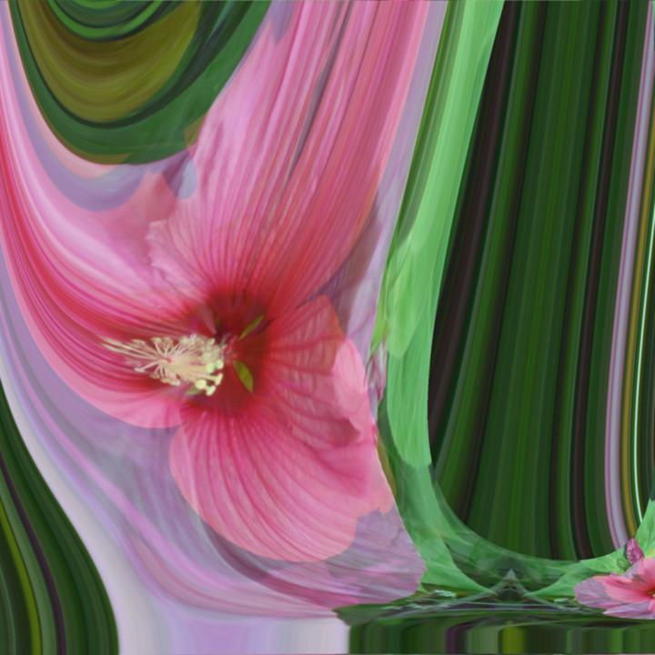 Trilliated hibiscus woiixh