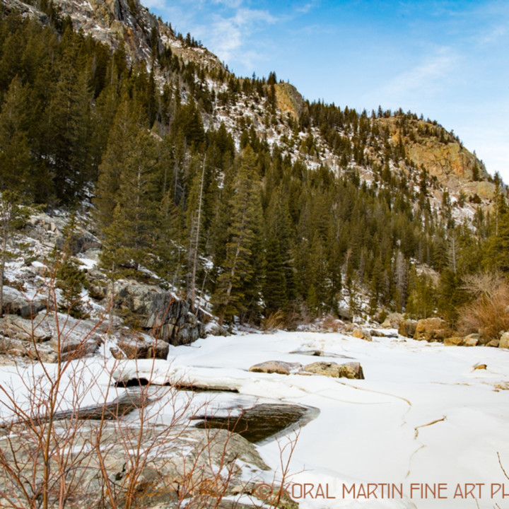 Colorado winter snow poudre canyon sun 9548 koral martin fmkukn