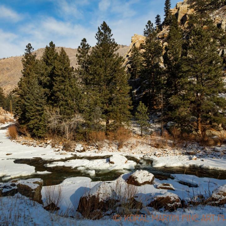 Colorado winter snow poudre canyon view 9405 koral martin n0dv4u