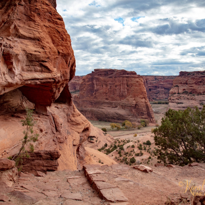 Canyon de chelly view 3530 u 19 koral martin ddyrpy