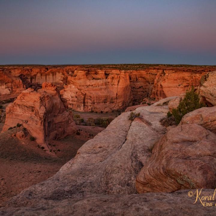 Sunset canyon de chelly 3442 koral martin c8difq