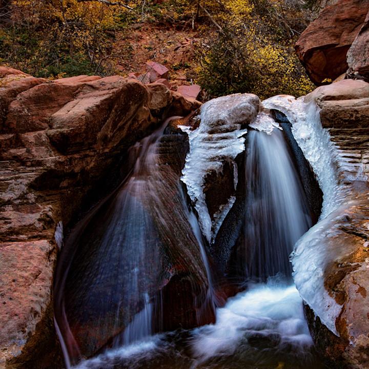 Kanarraville canyon slot canyon middle ice falls 3071 koral martin rejwu8