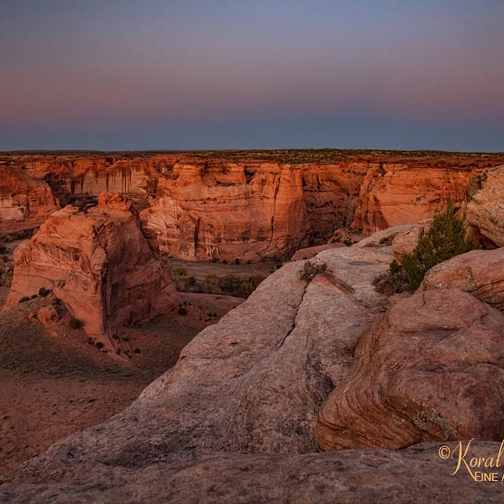 Sunset canyon de chelly 3442 koral martin bfg30i