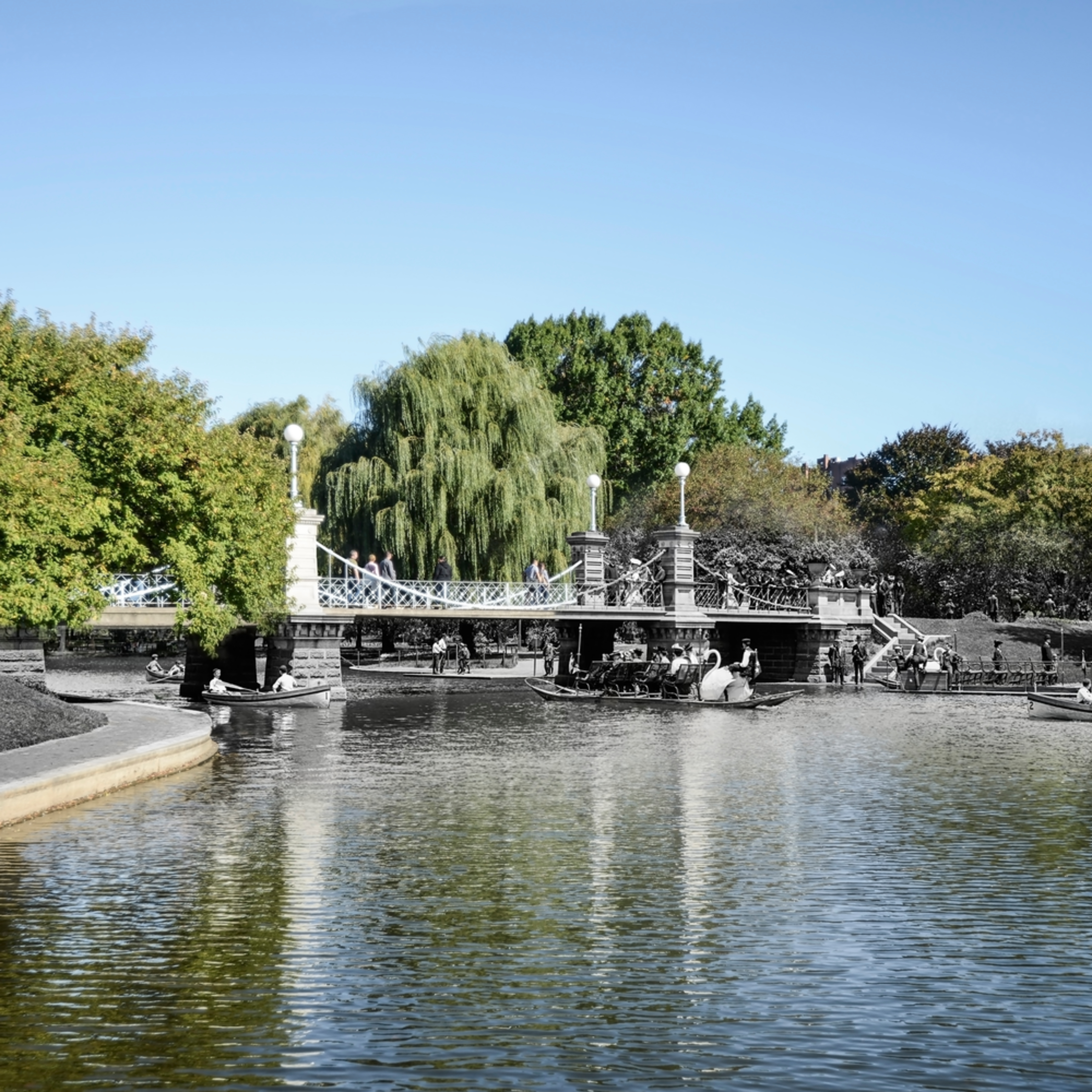 Dsc 8728 bridge public garden boston mass. 32x24 ljoxdz