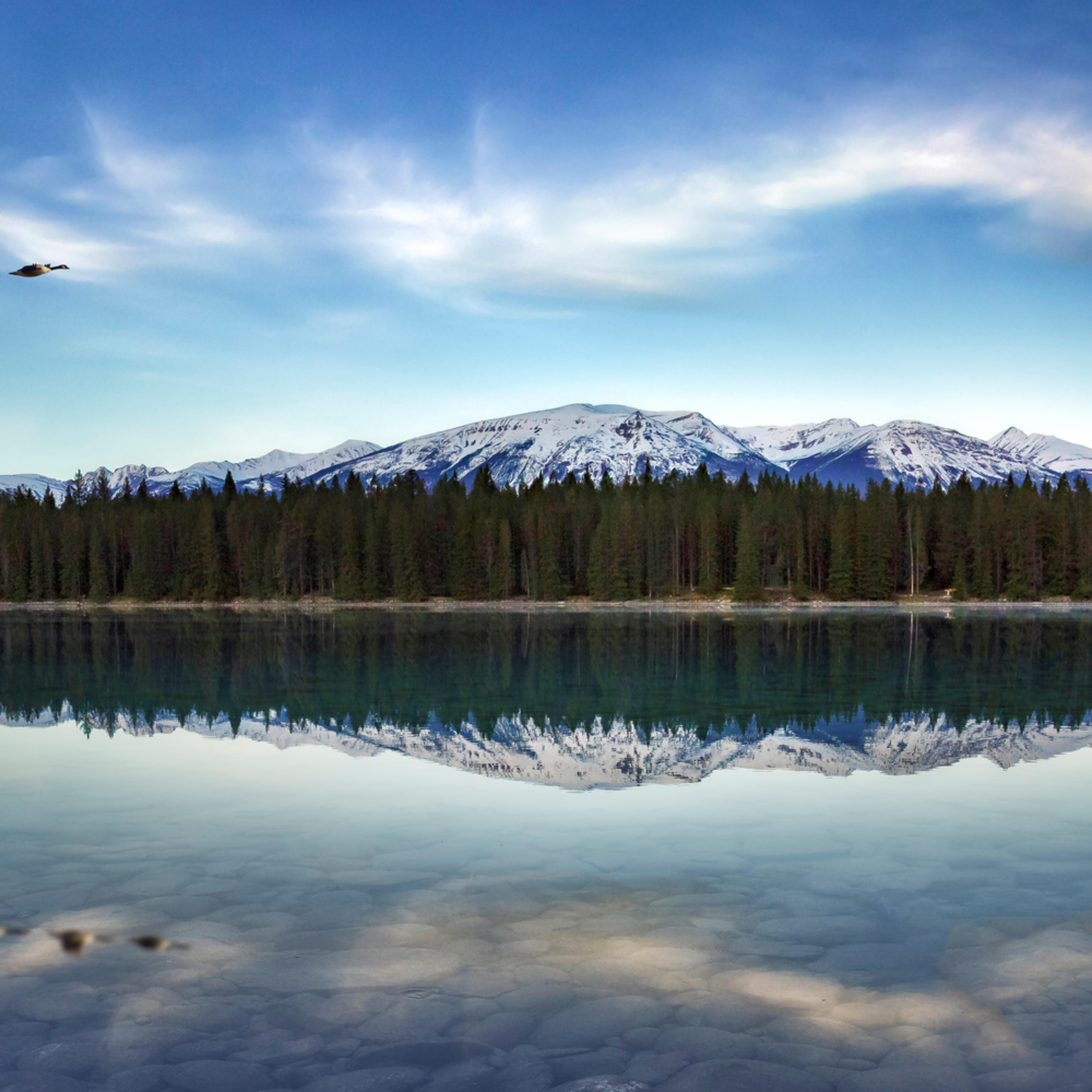 Lake annette n60a1034 48x24 cmqru6