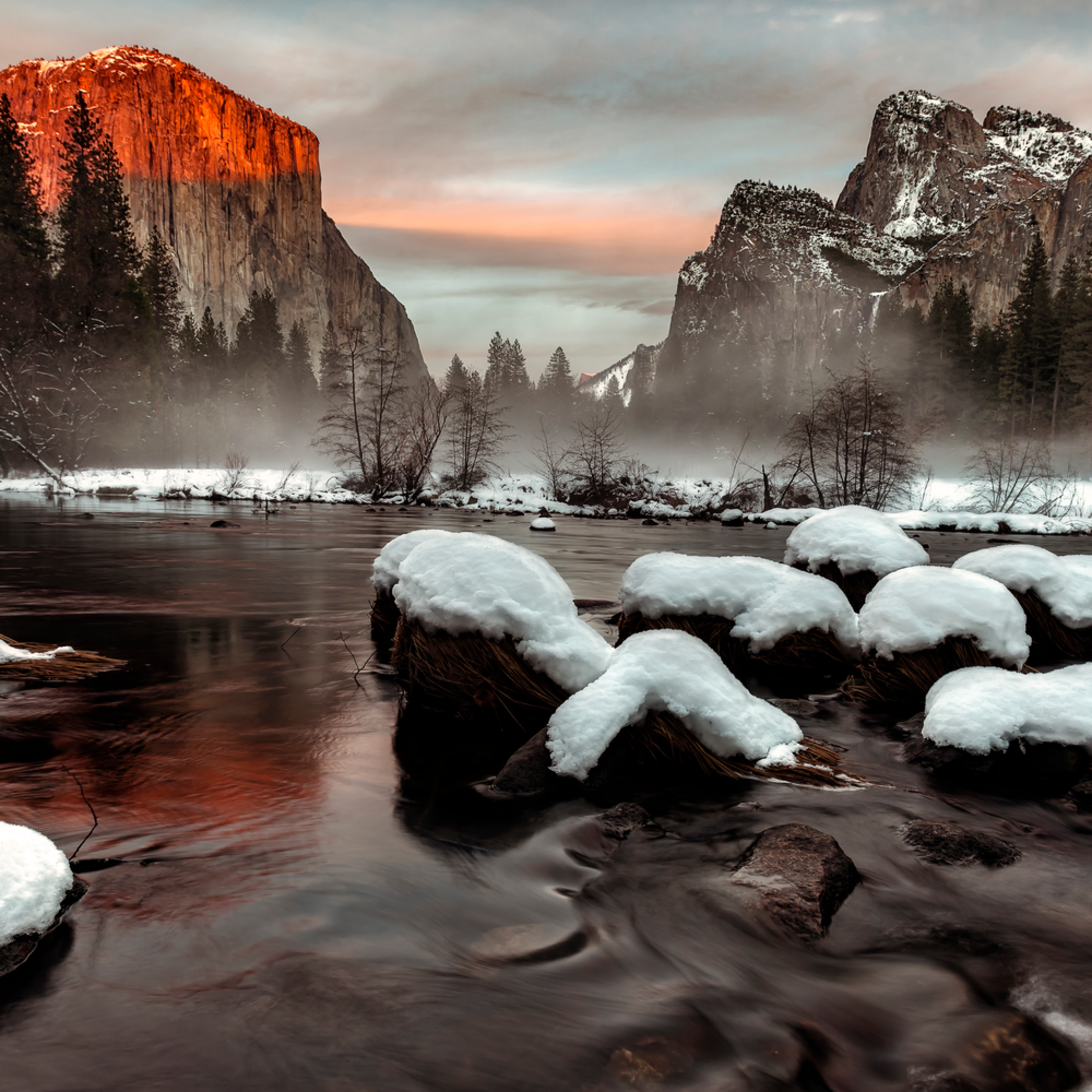 Yosemite color  24x36 dk2ptr