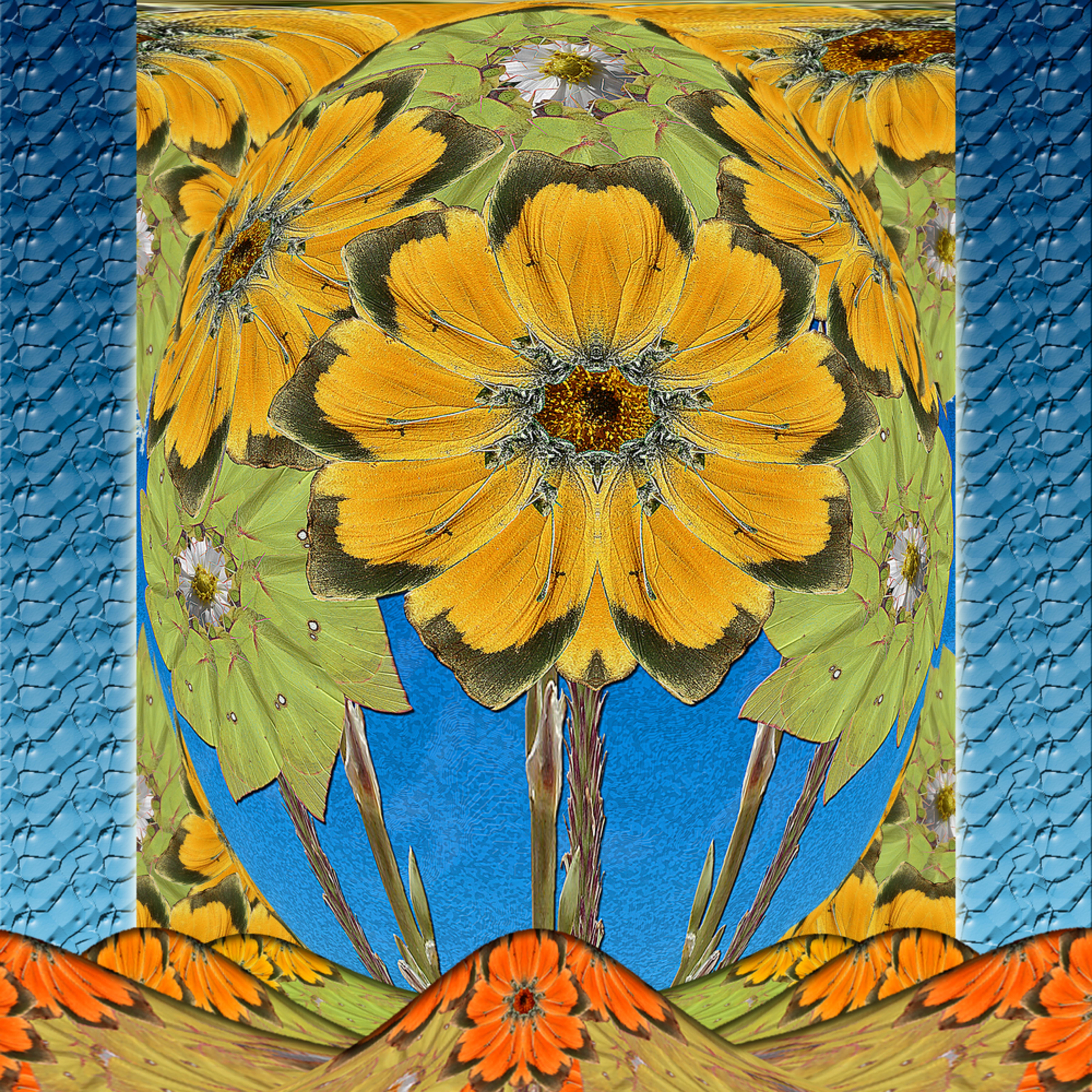 Butterflysunflowers rcia89