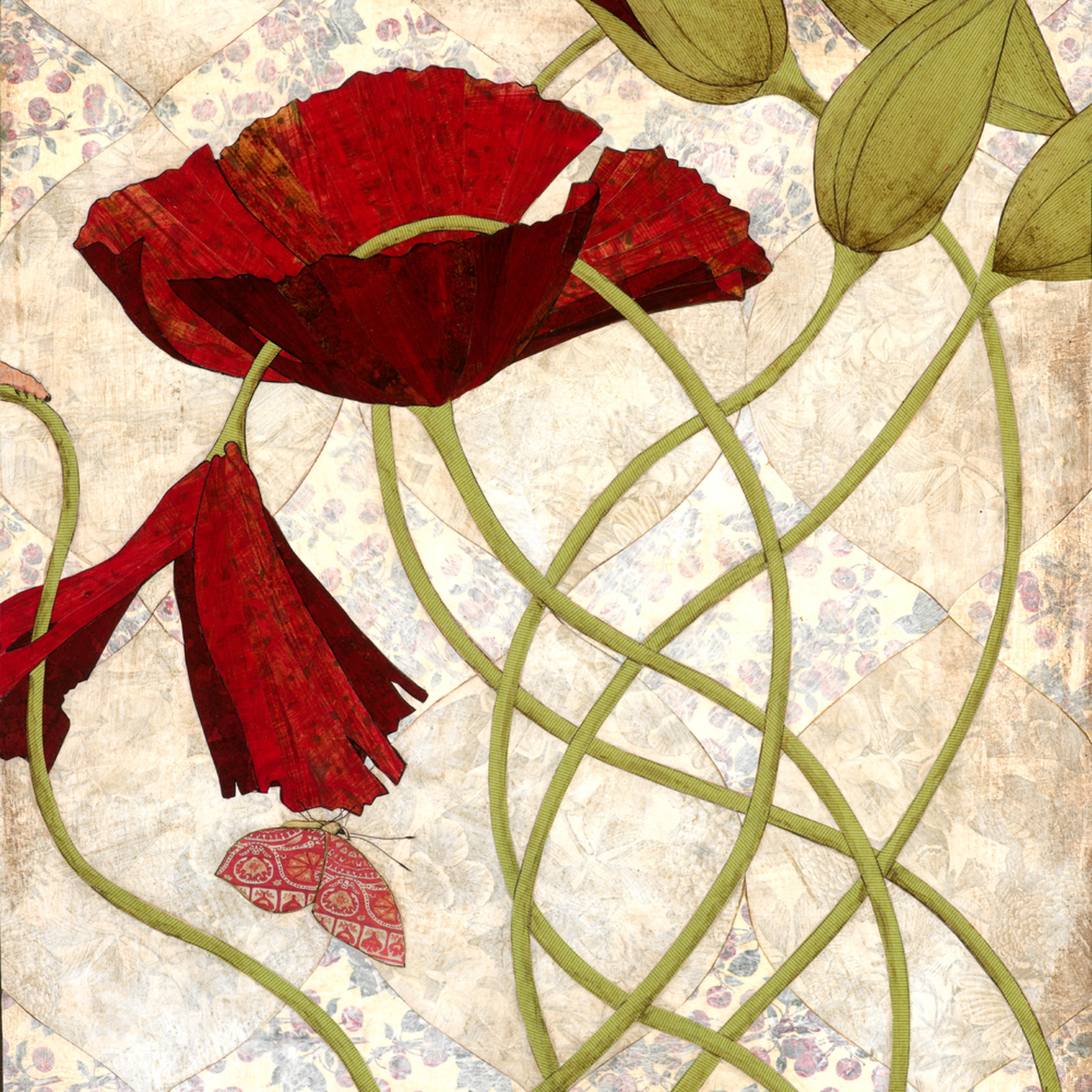 Red flowers okqi8k