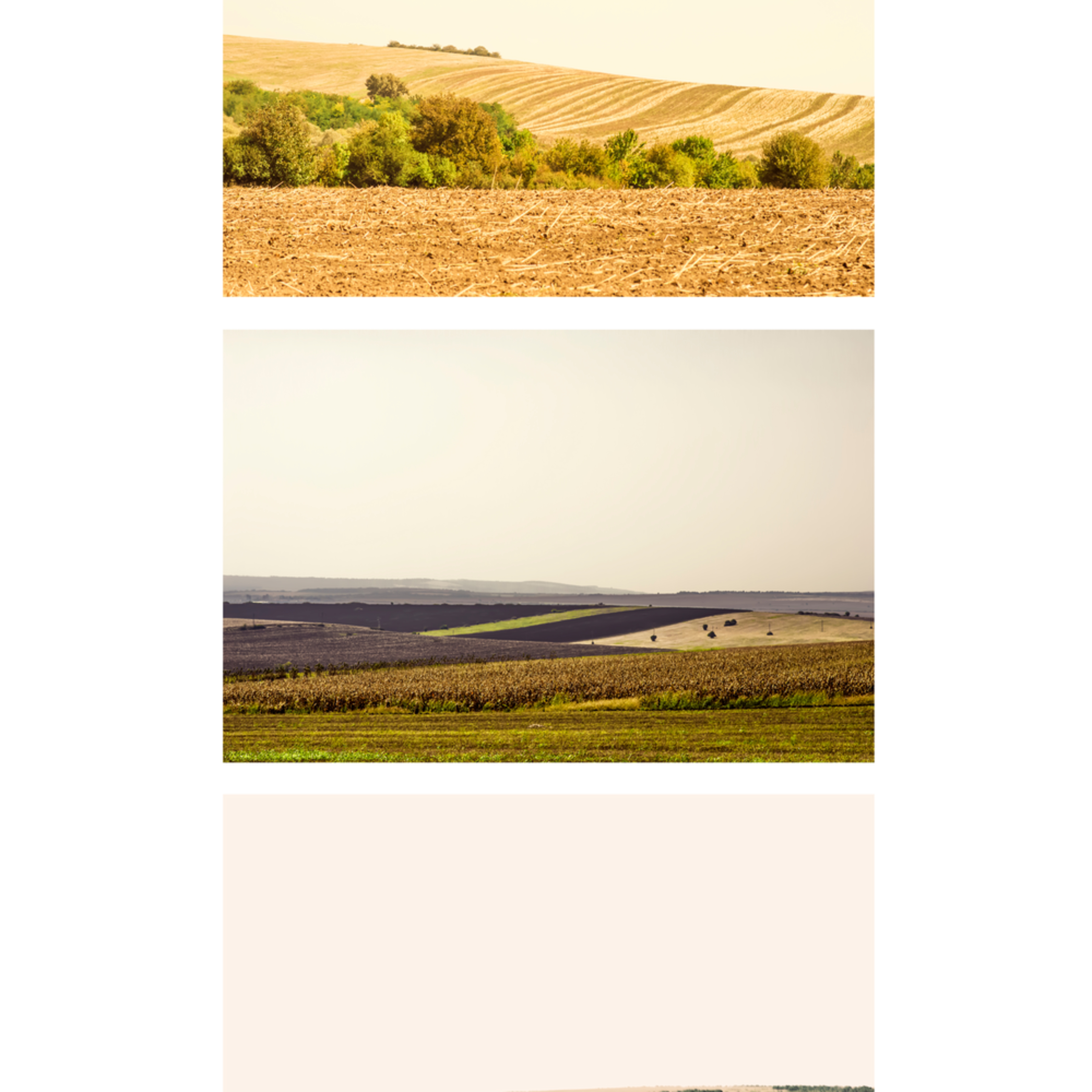 Landscapes ii collage abstract landscape photography fine art print silvia nikolov ceoyxc