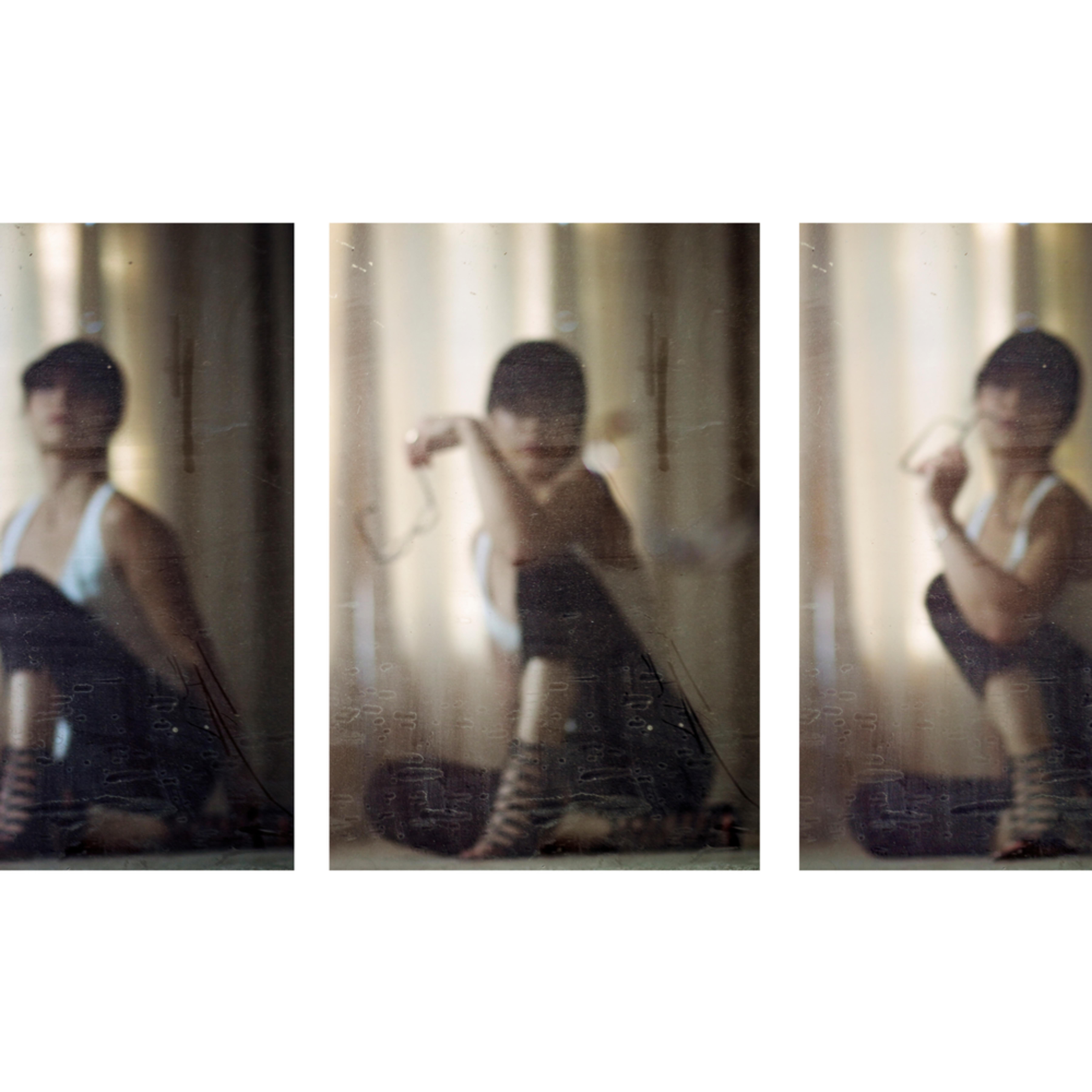 Anonymity triptych abstract portrait photography fine art print silvia nikolov fy6uss