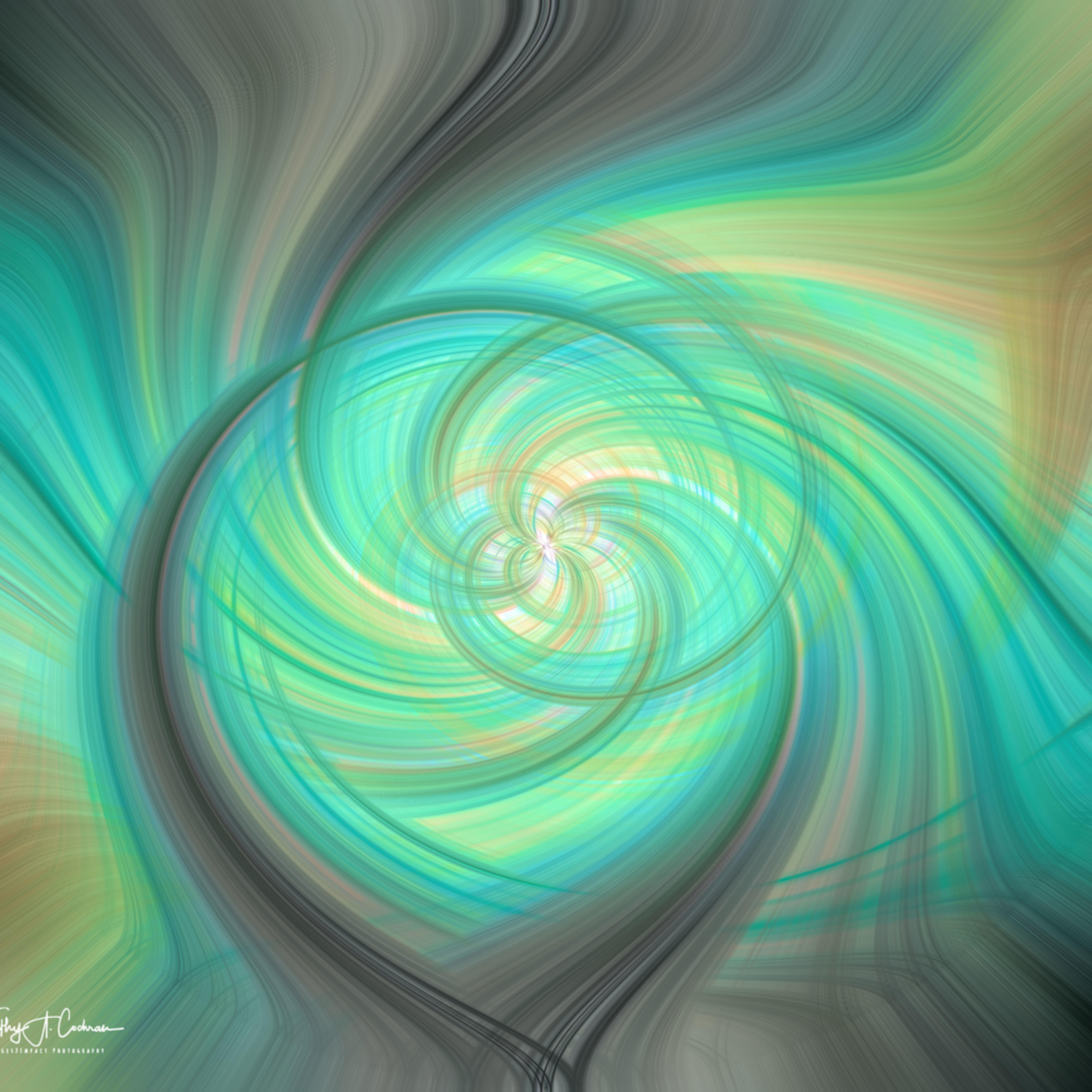 Green fog swirl tzge11