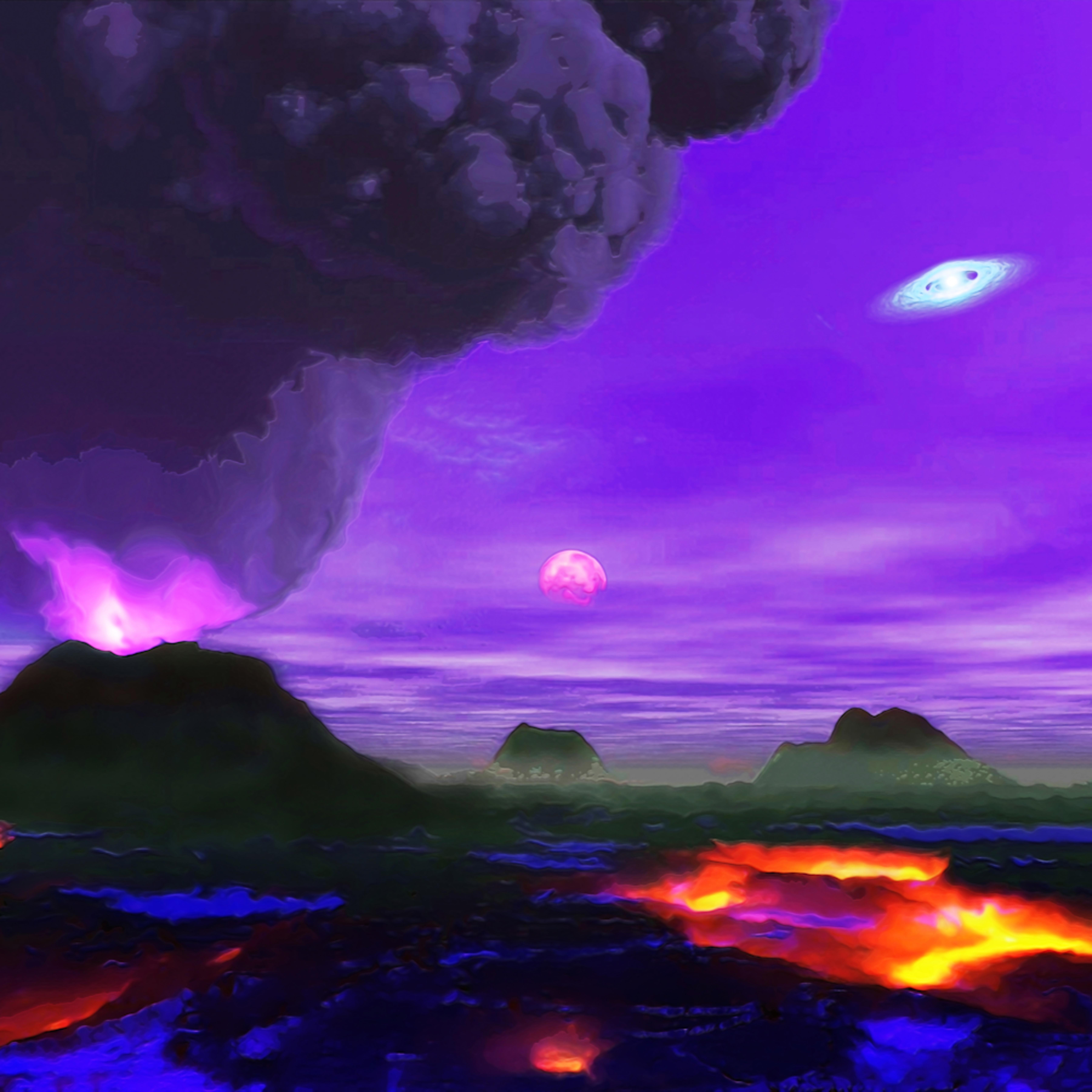 Volcano planet mnguku