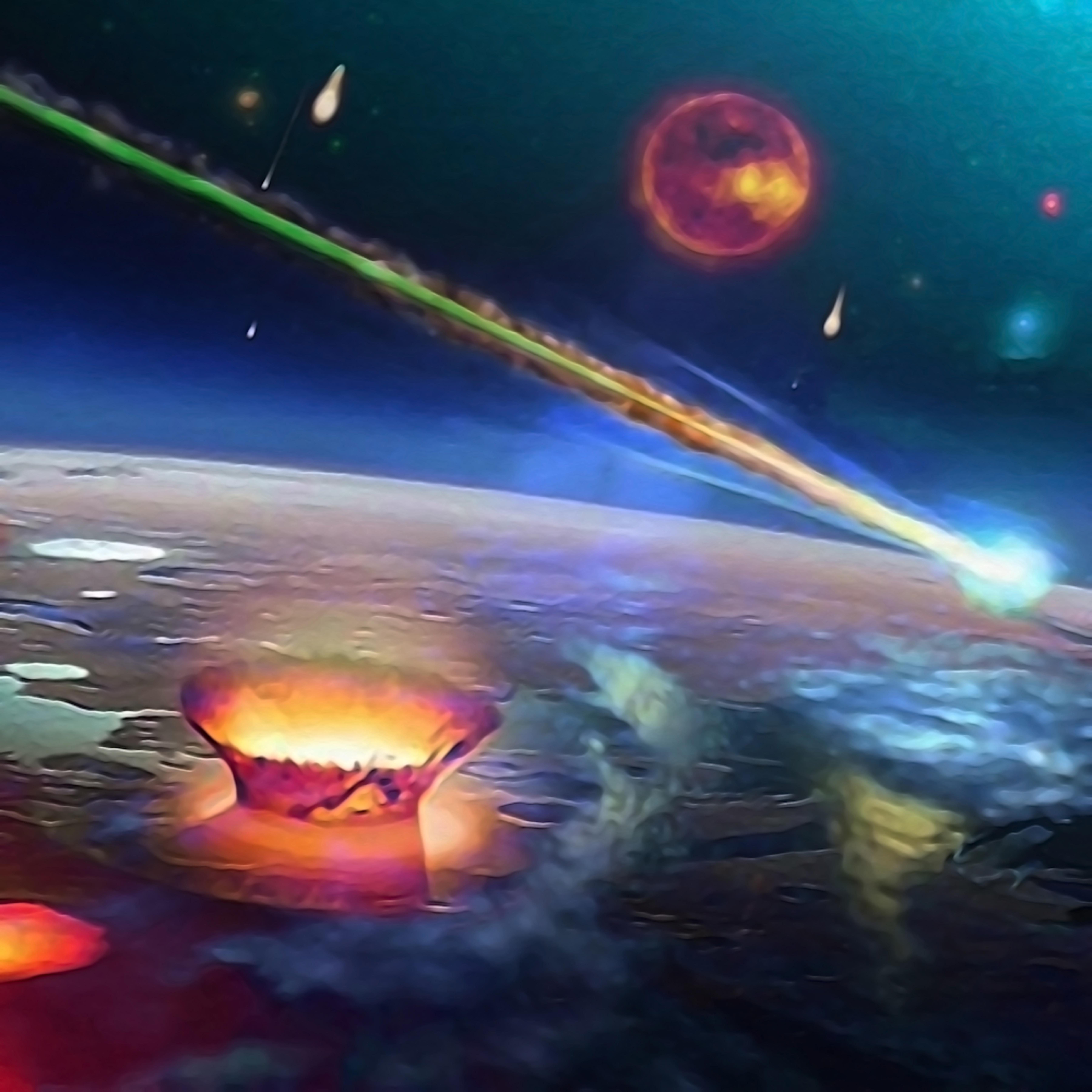 Meteor shower jopmam