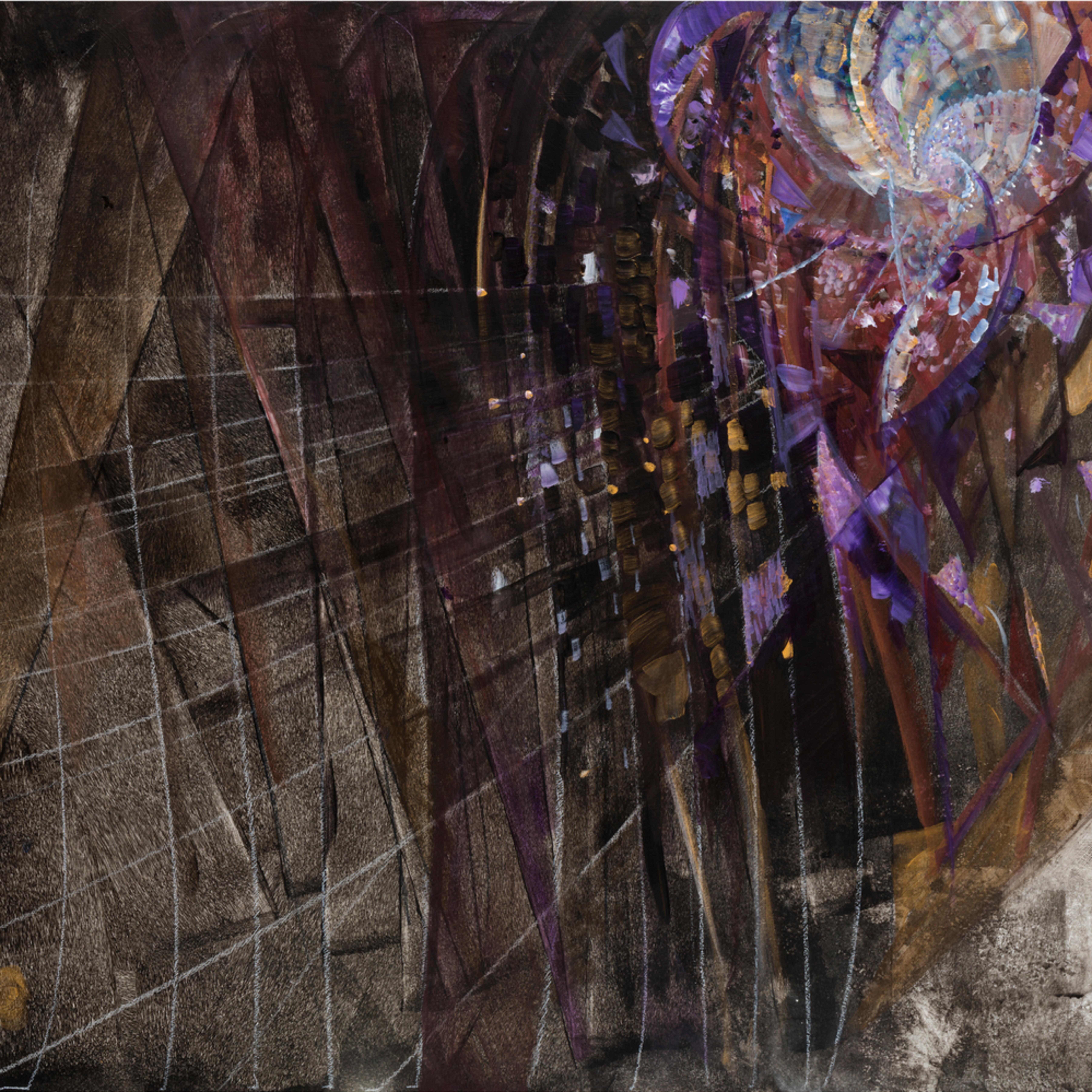 Crescendo in purple jp3uyk