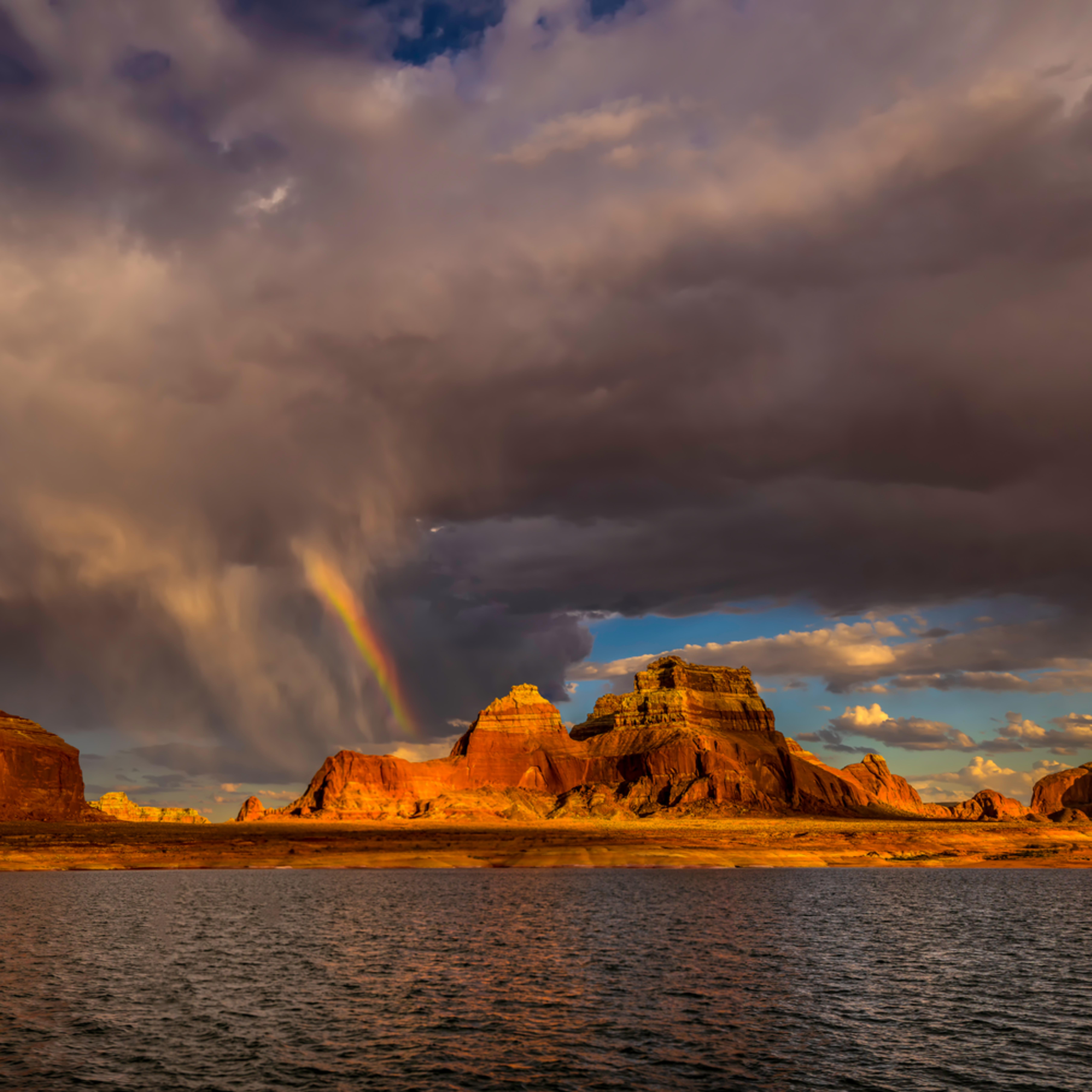 Lake powell rainbow 24x36 uveuui