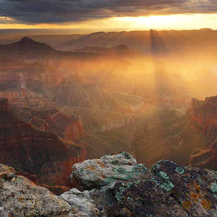 Grand sunrise canyon southwest ianryp