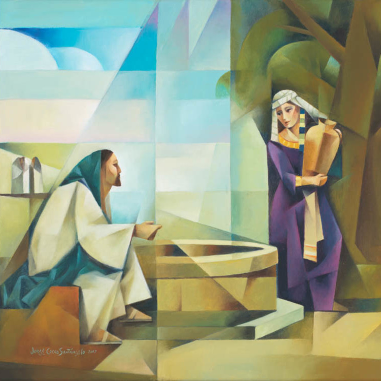 Jorge cocco jesus and the samaritan woman im6dfi