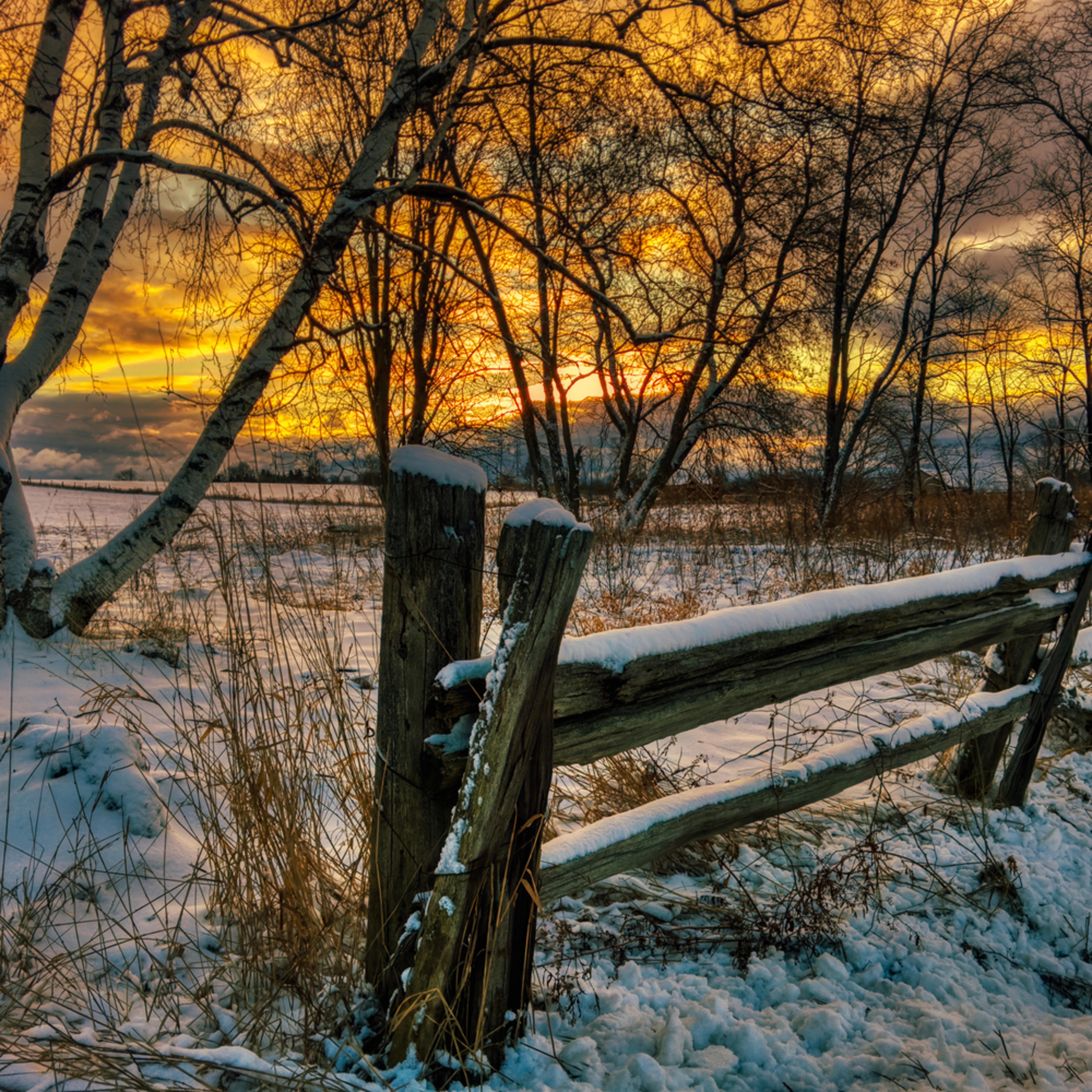 Ontario winter z83fs7