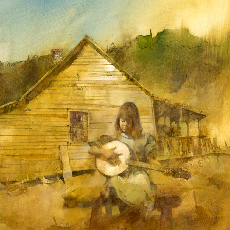 Banjo girl dranuf