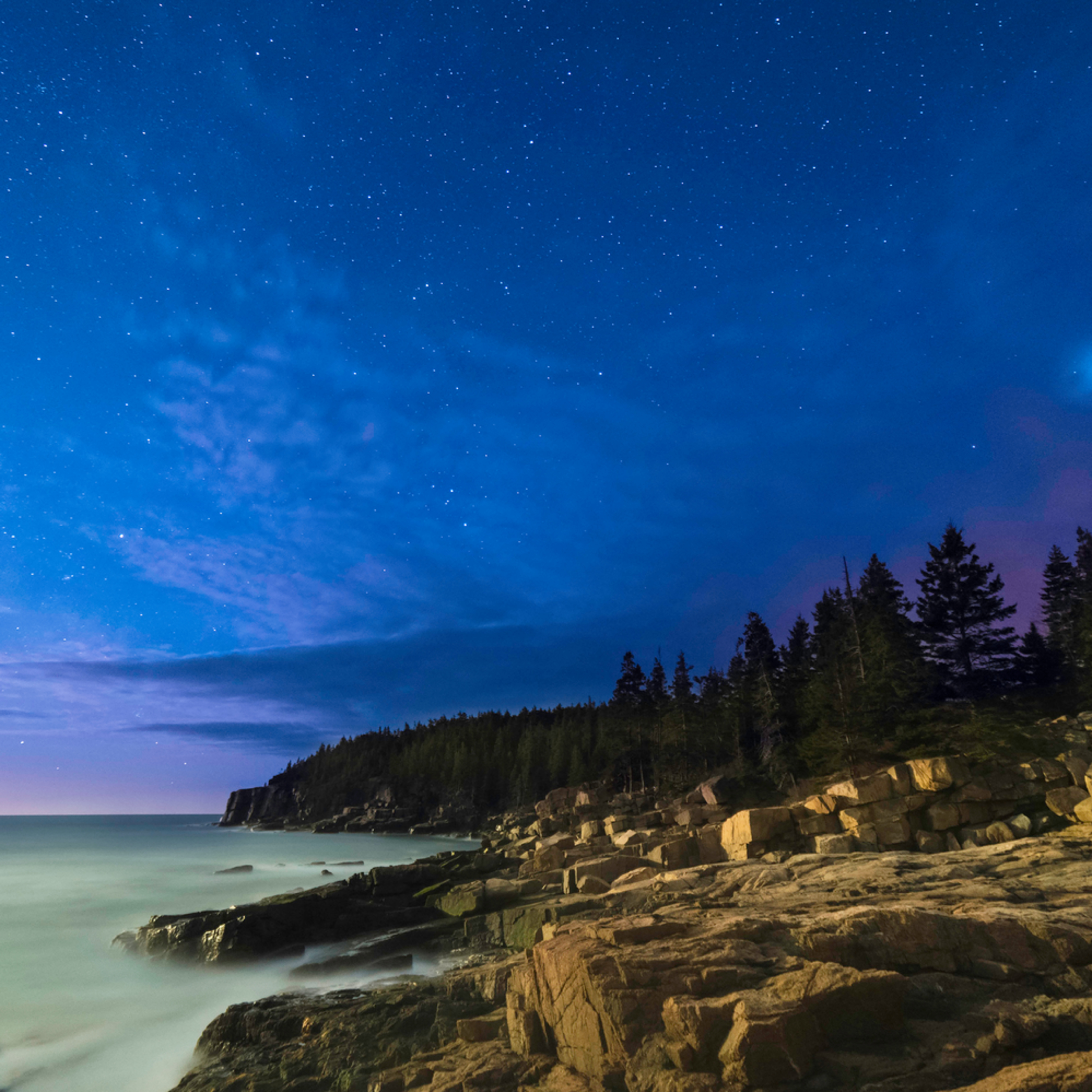Otter cliff night sky pa0n83