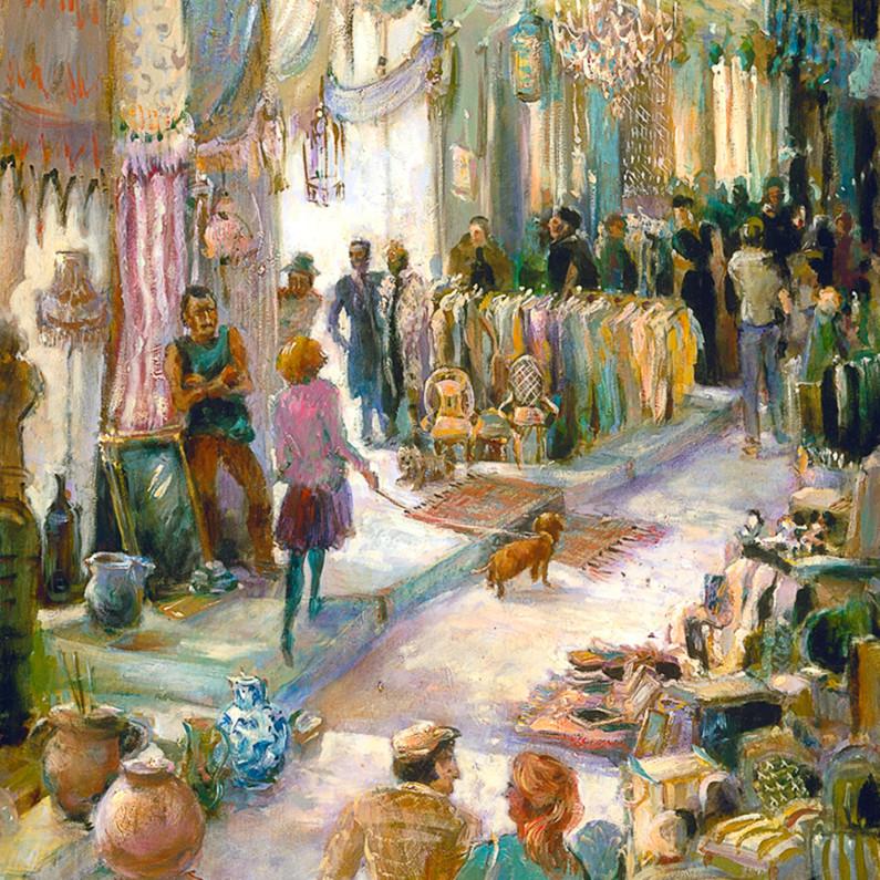 Antique market paris yyc52e