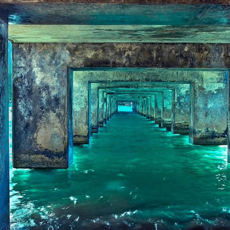 Beneath the pier z9mxfb
