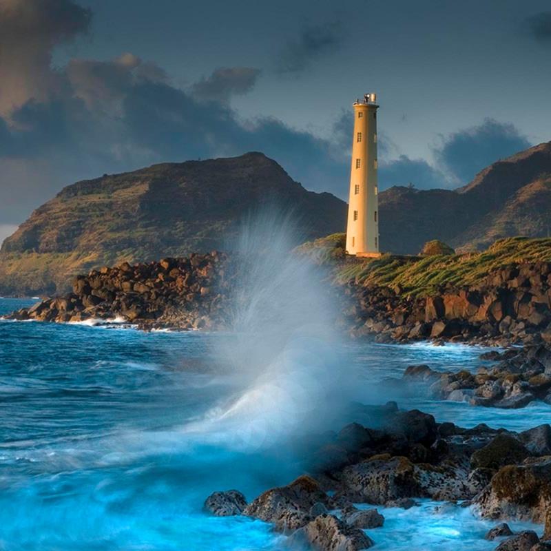 Lighthouse wave hdjvzg