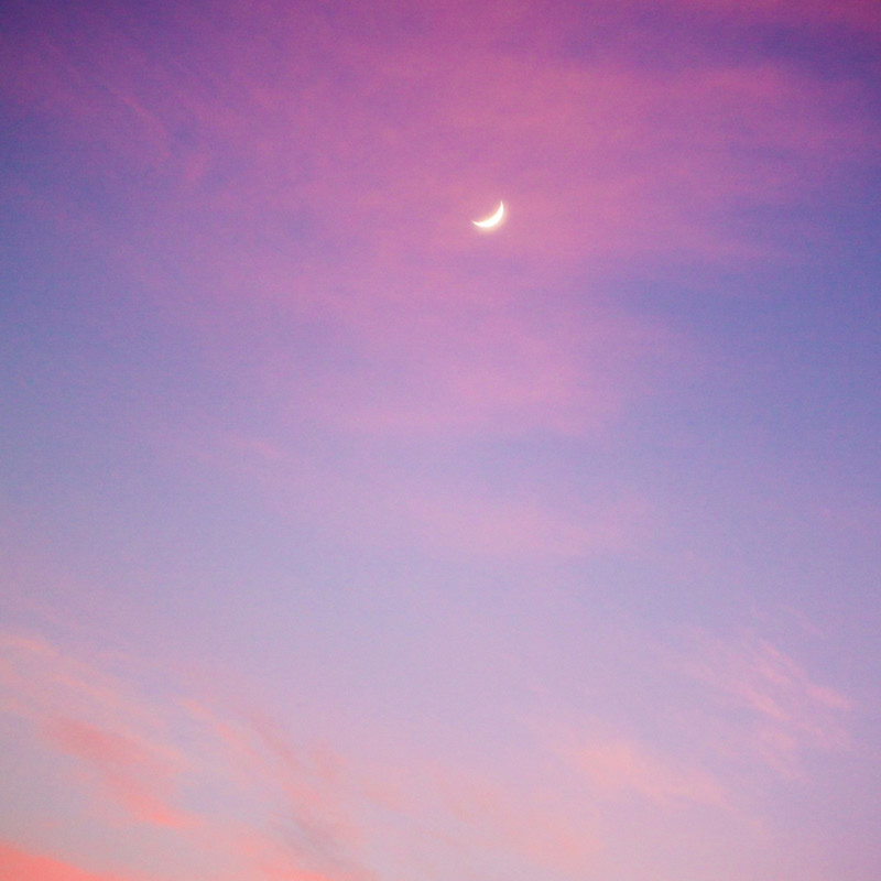 Watercolor moon o2rsge