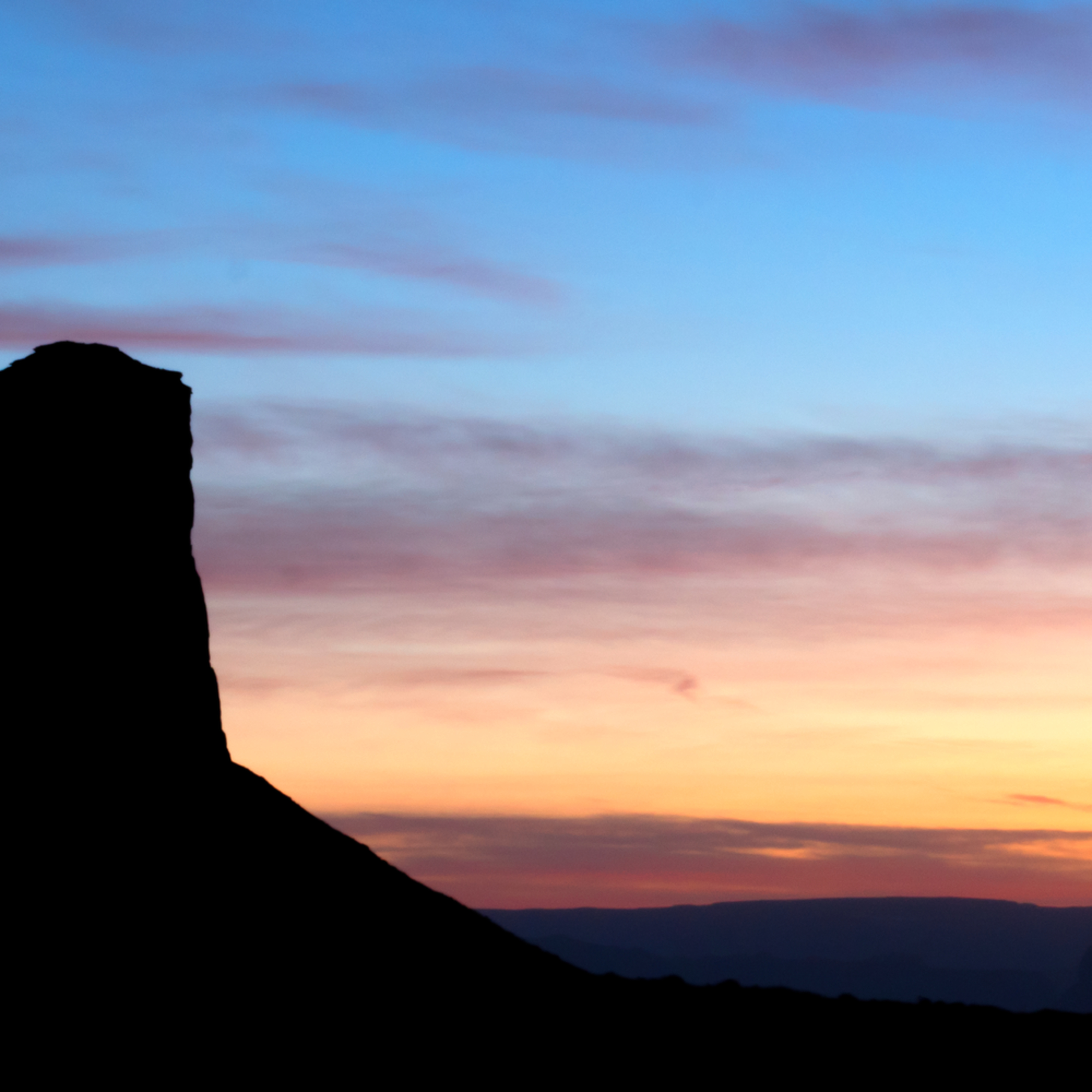 Monument valley silhouette 30x60 for print yjxyfq