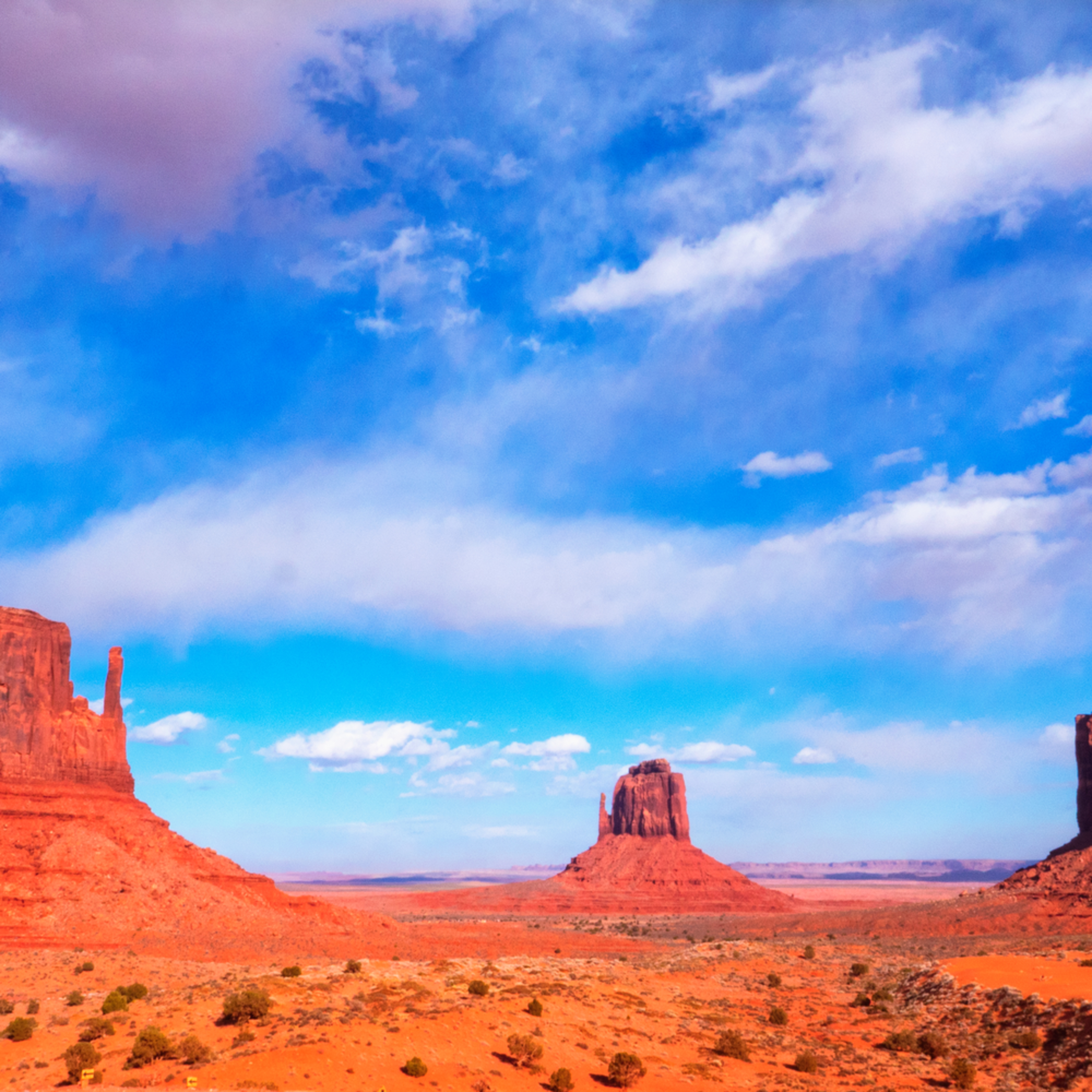 Monument valley clouds for print c96hmx