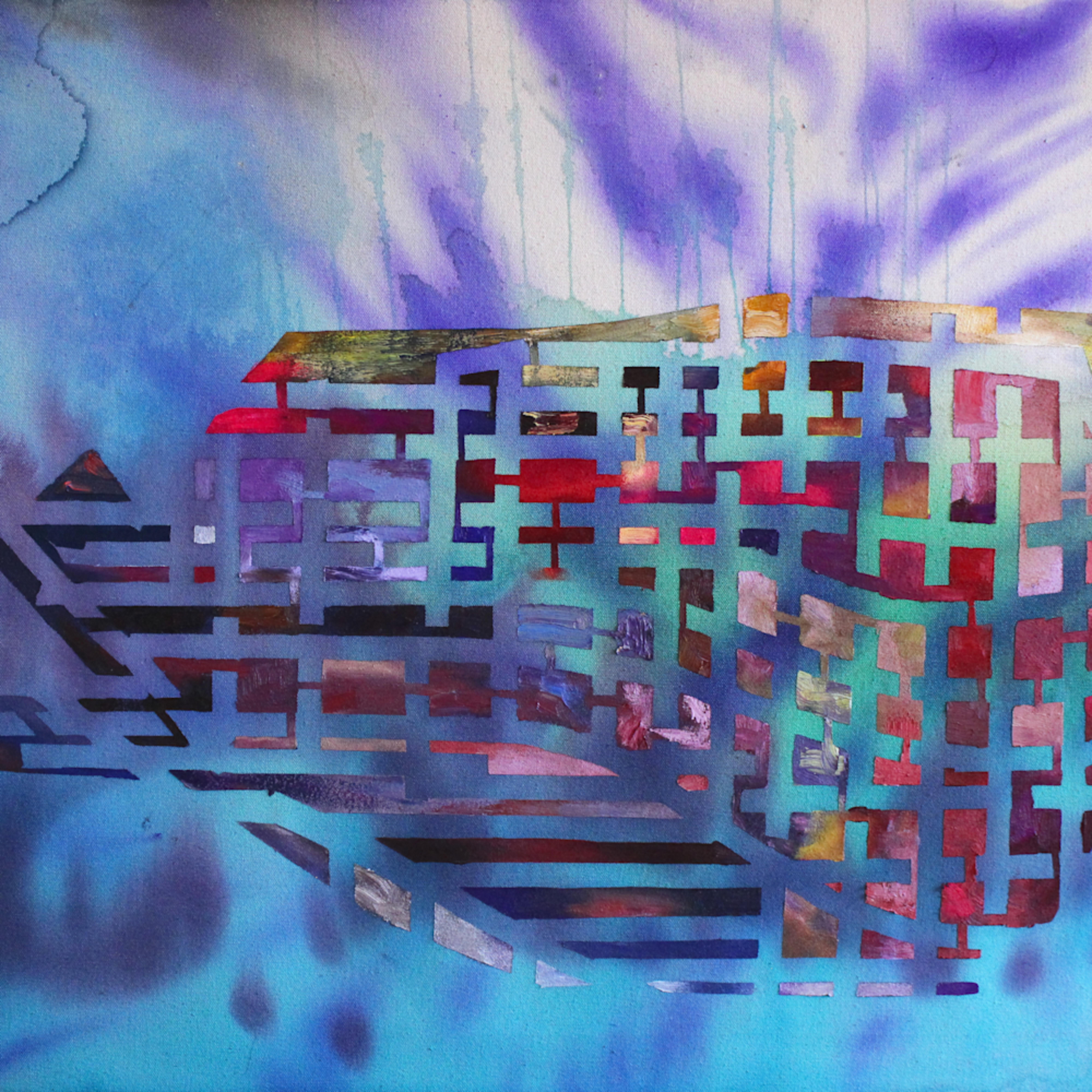 Whale painting michael serafino wet paint nyc kspqeu