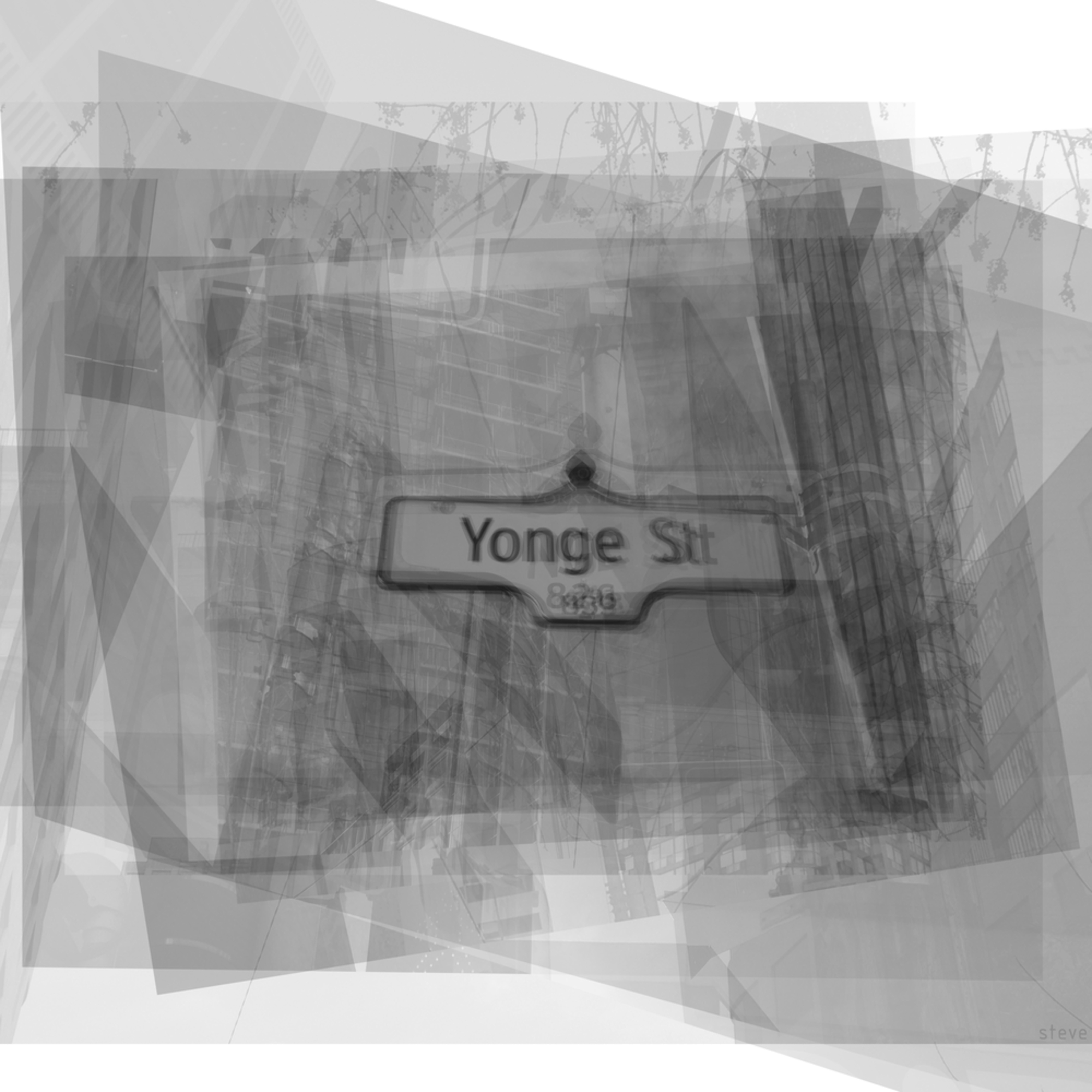Yonge street sign b1alpr