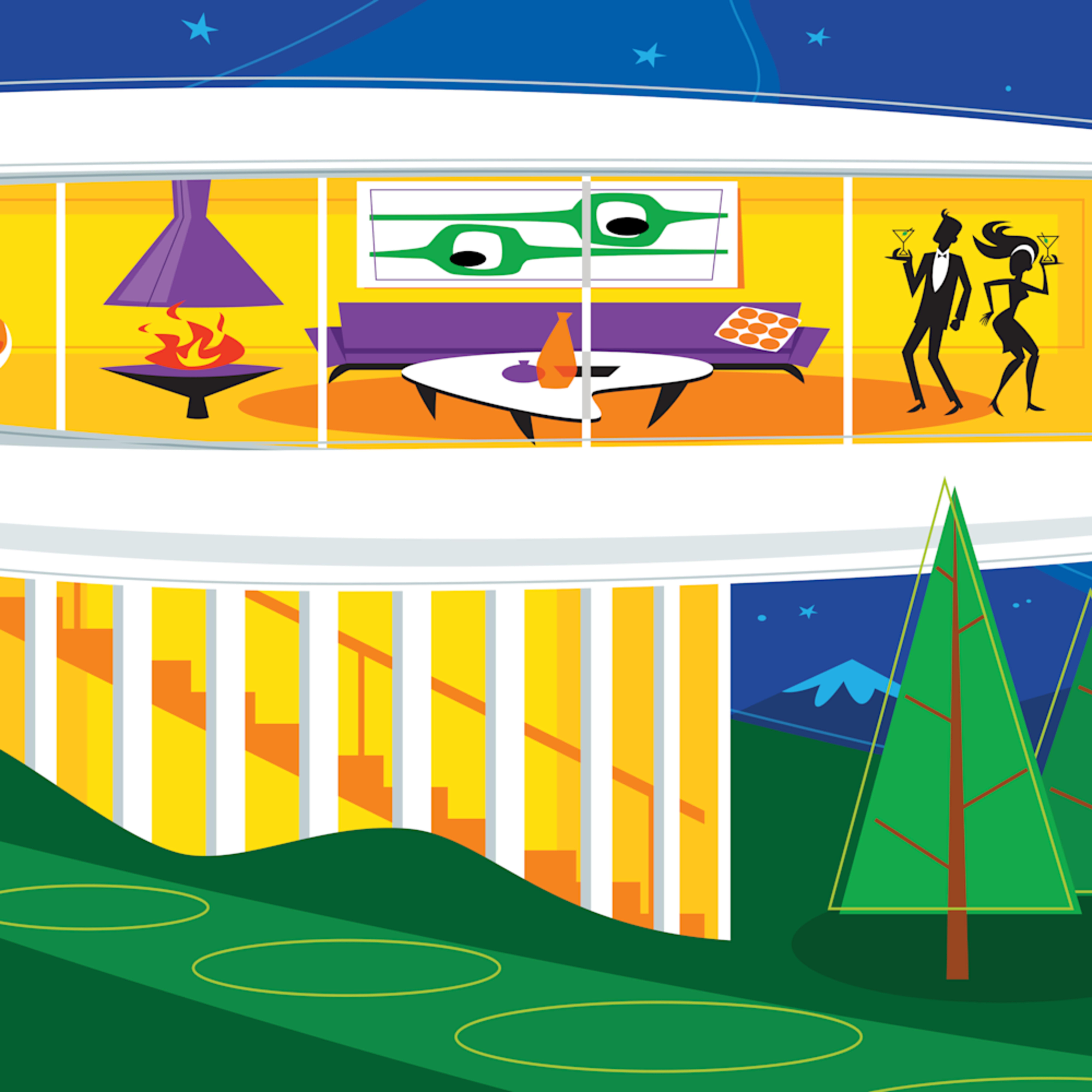 Colorado spaceship house ruuzmx