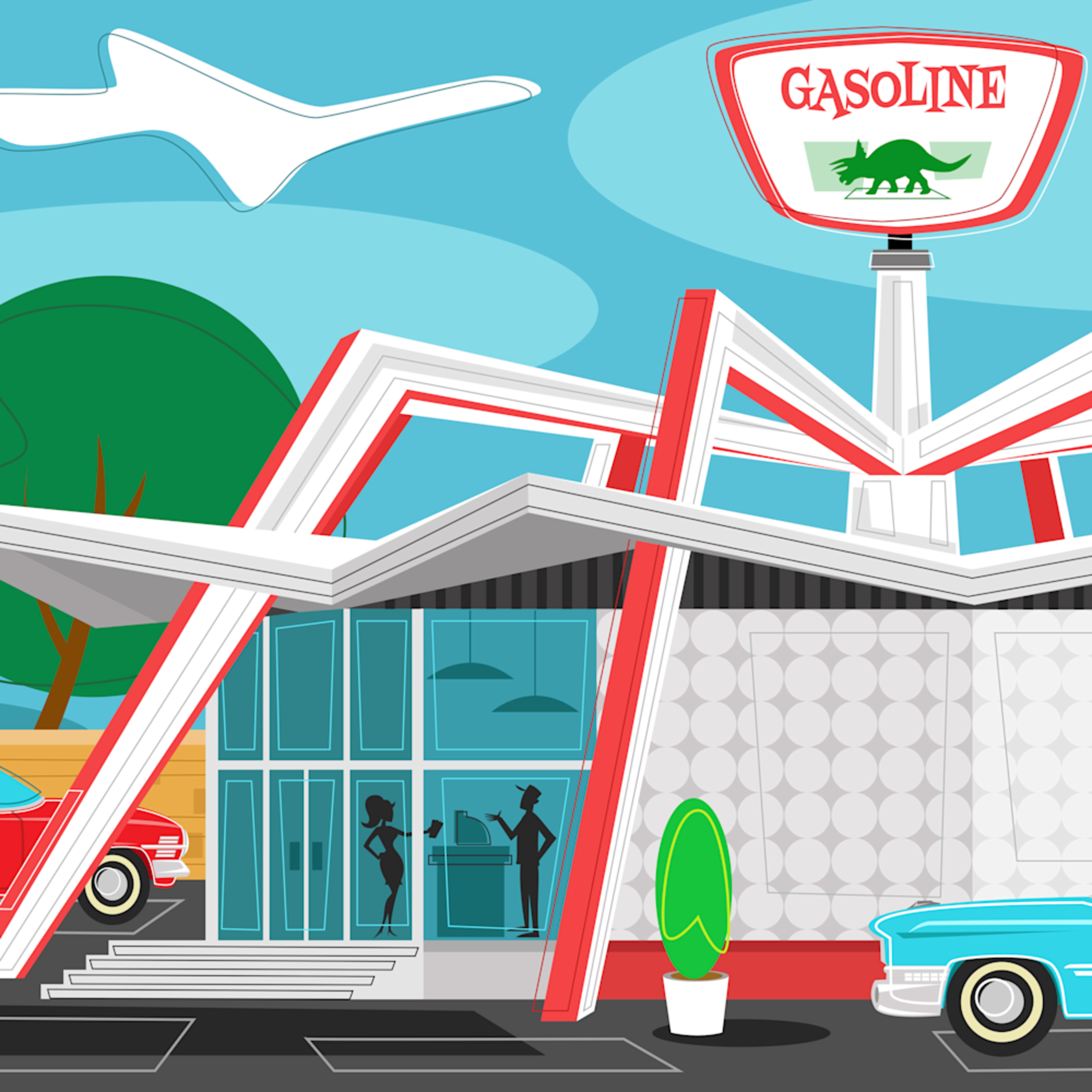Gas station gnadtf