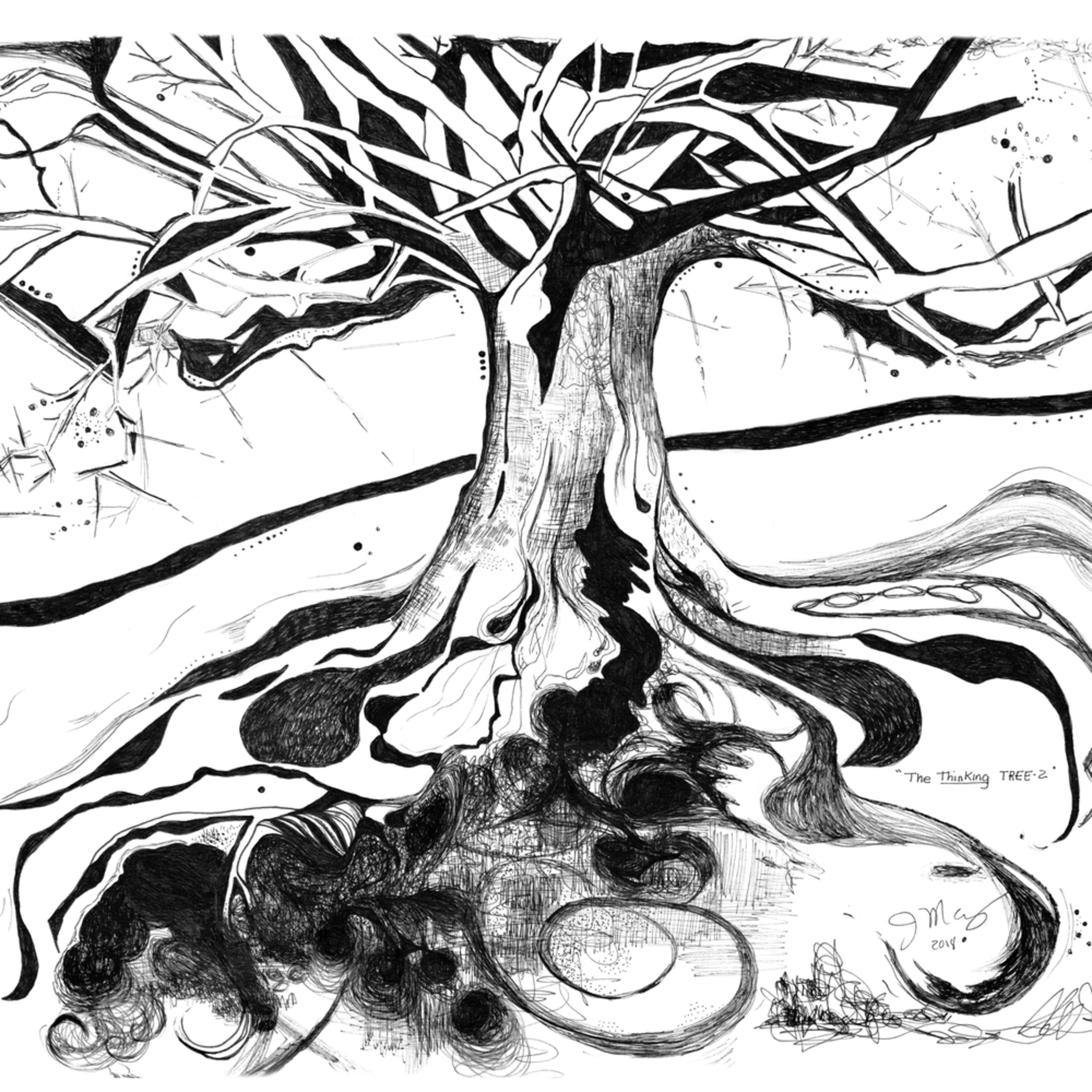 The thinking tree jqvyji
