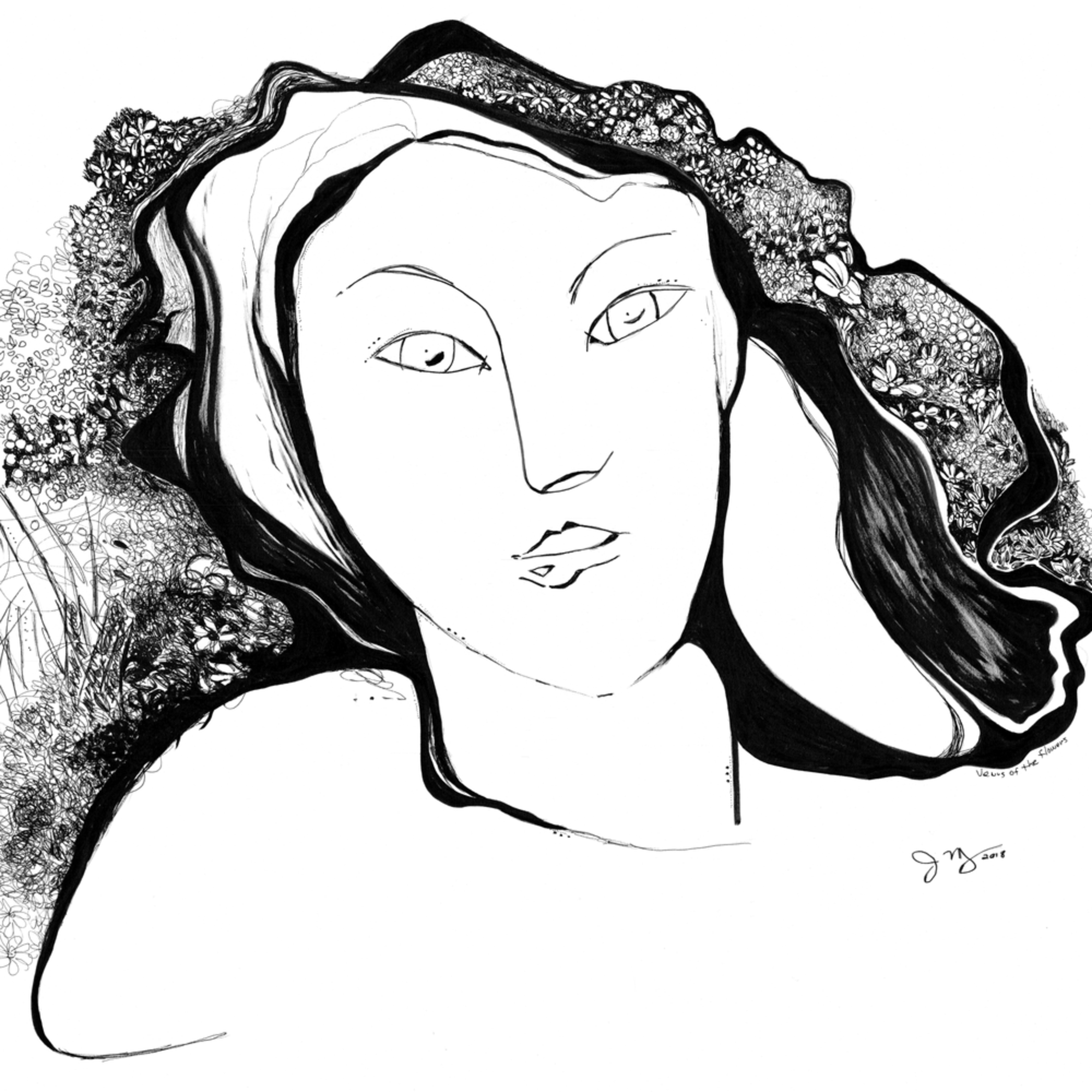 Venus of the flowers final etytud