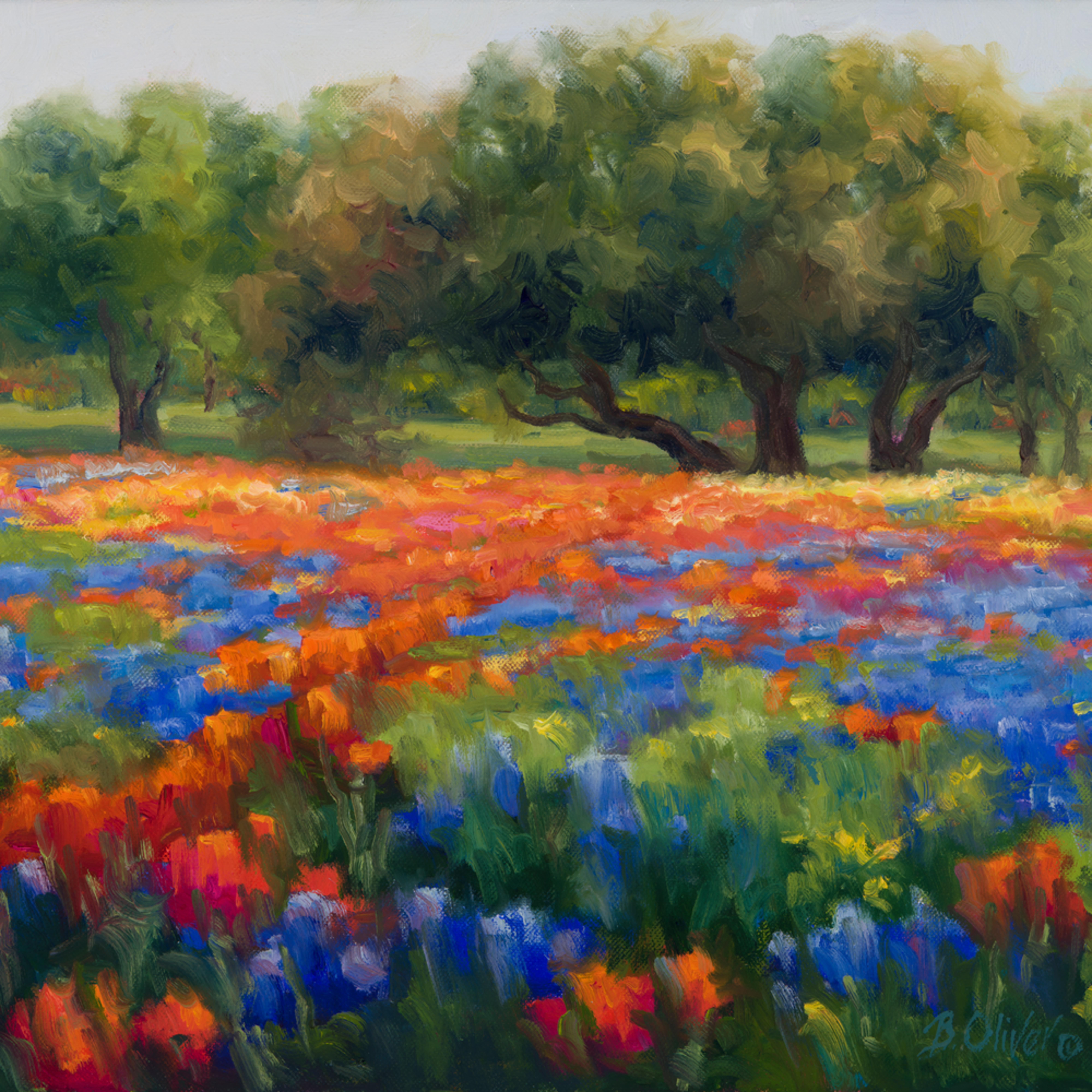 Spring tapestry wevppw